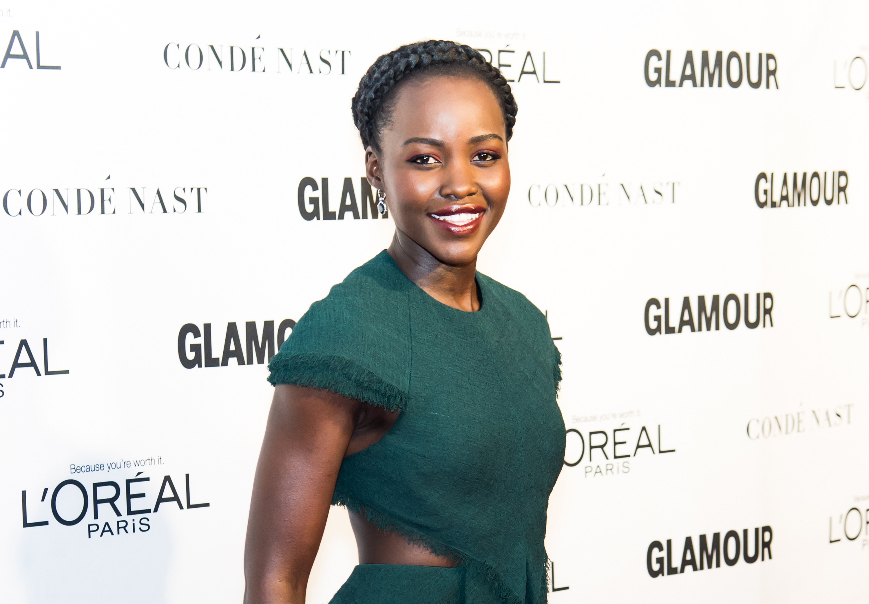 Actress Lupita Nyong'o attends Glamour's 25th Anniversary Women Of The Year Awards at Carnegie Hall in New York City, Nov. 9, 2015.