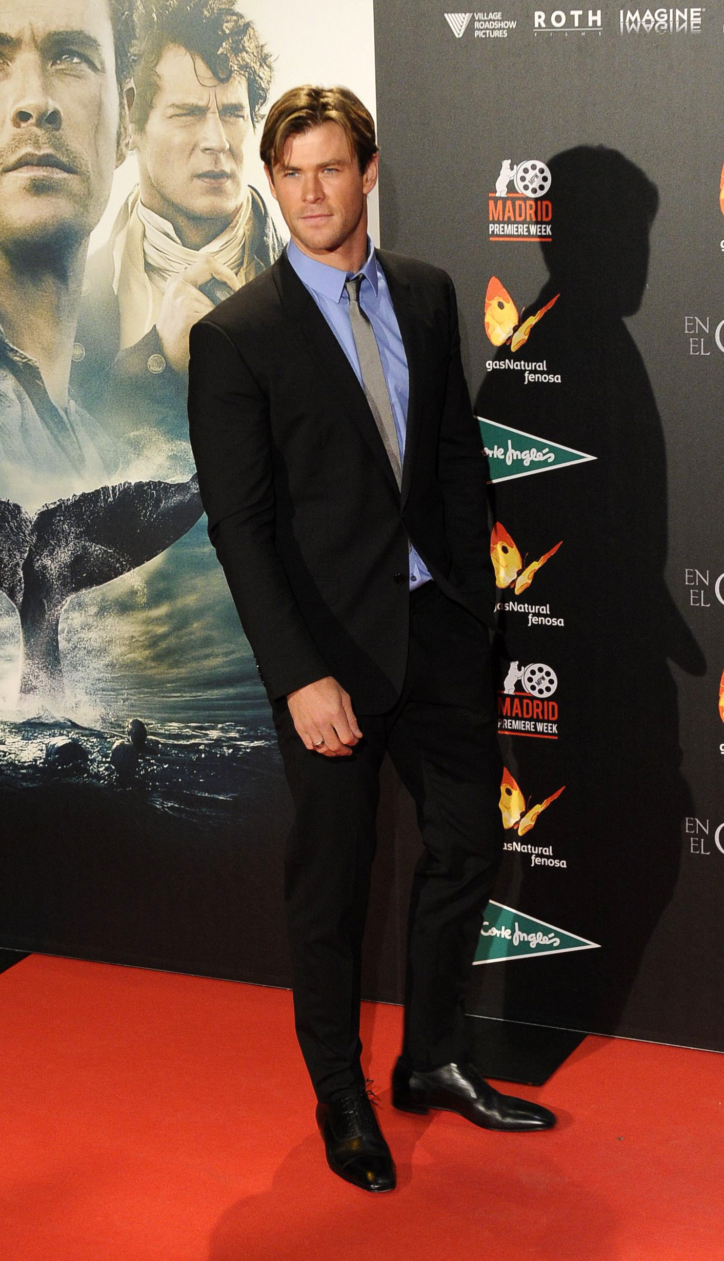 Chris Hemsworth attends 'In The Heart Of The Sea' on December 3, 2015 in Madrid, Spain.  (Europa Press--Europa Press via Getty Images)