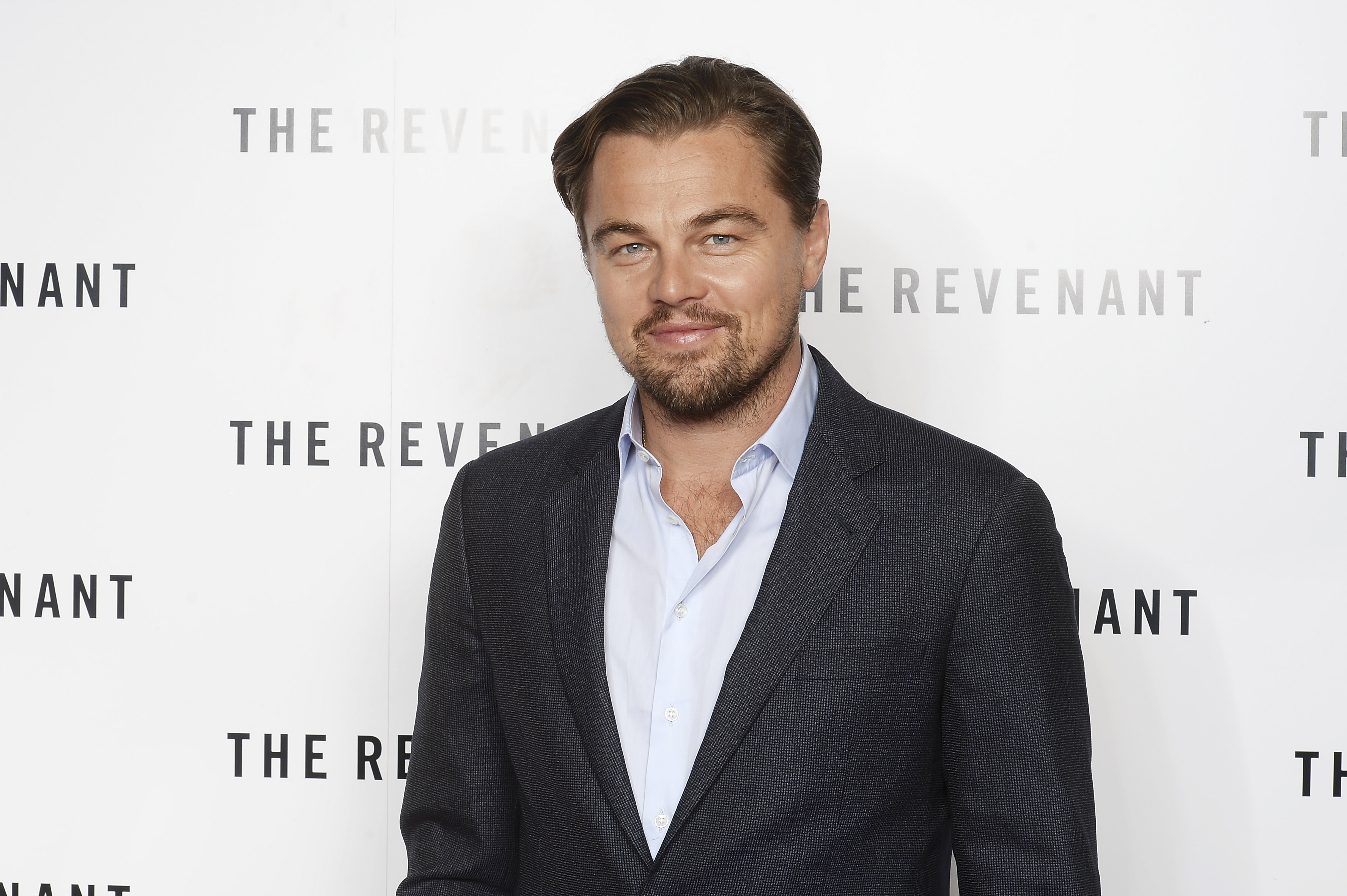 Leonardo DiCaprio attends a BAFTA screening of 'The Revenant' at Empire Leicester Square on December 6, 2015, in London.