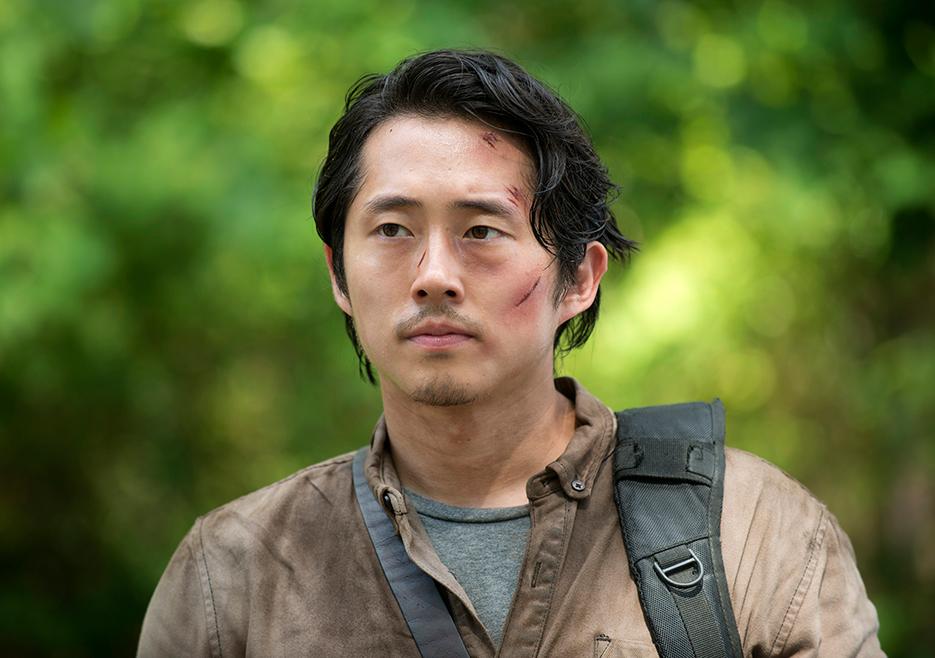 Steven Yeun as Glenn Rhee in The Walking Dead
