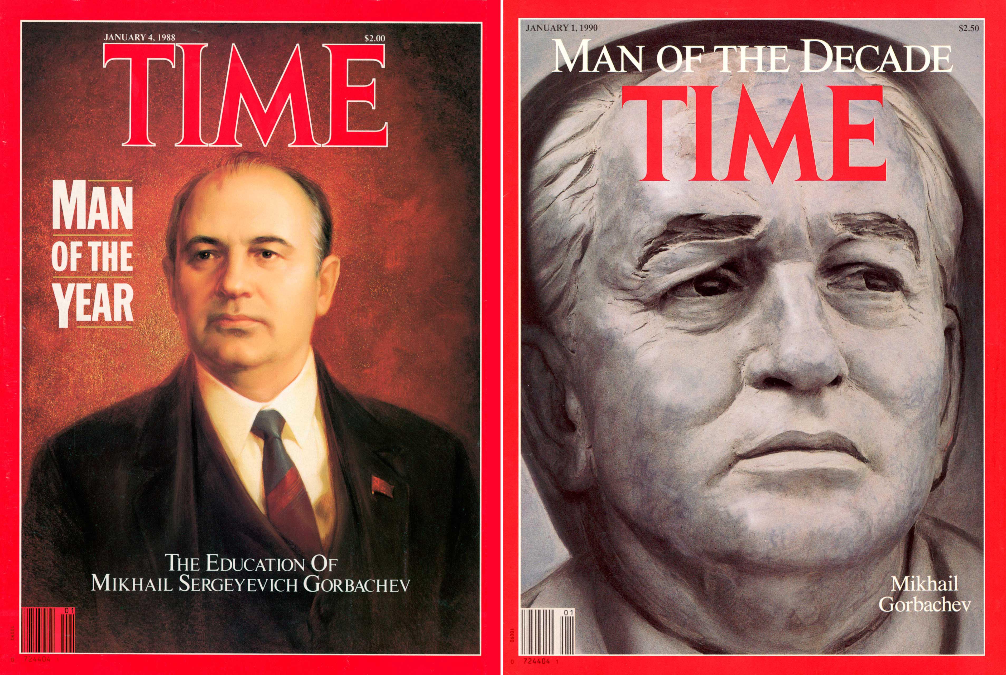 Gorbachev POY Covers