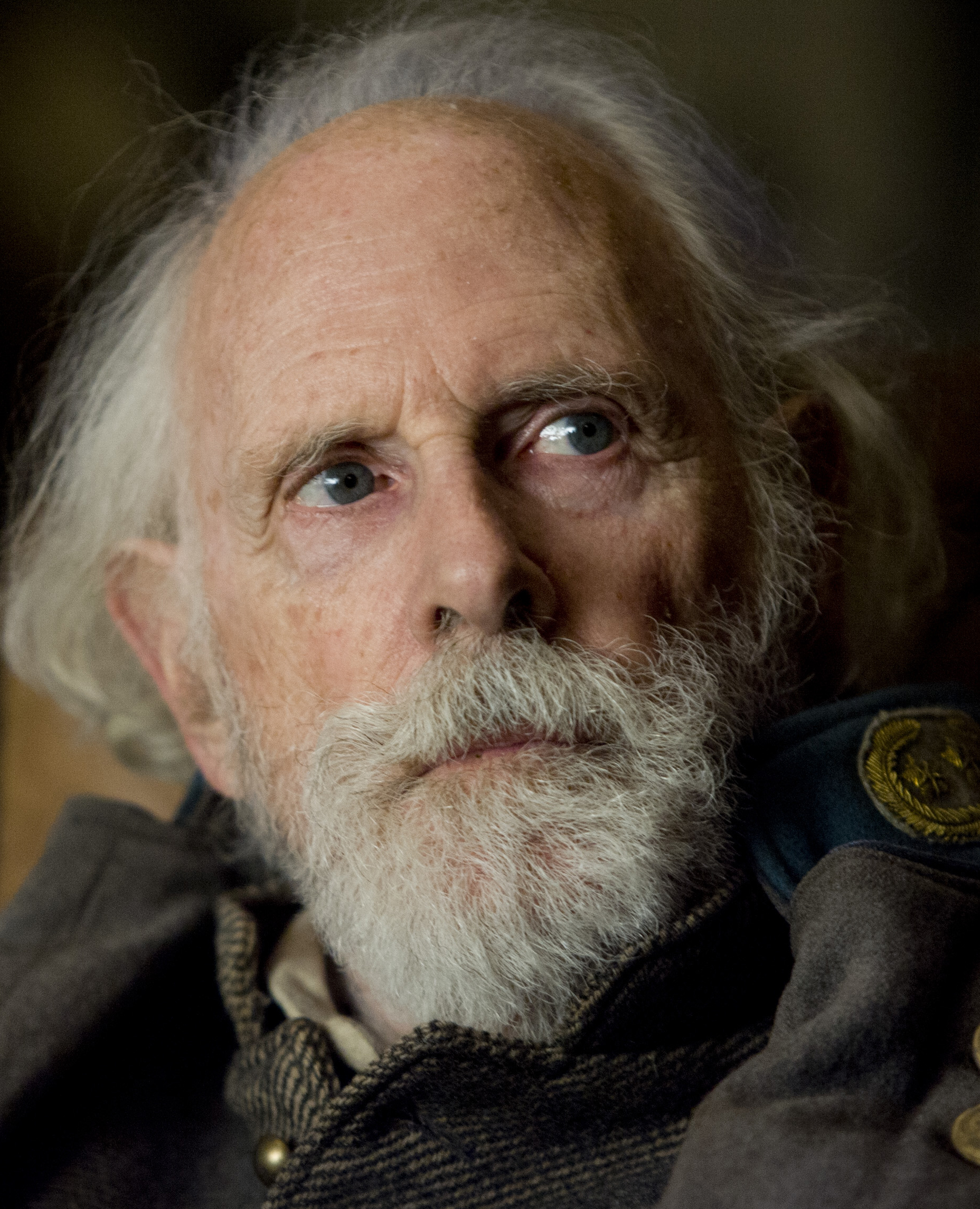 Bruce Dern as General Sanford  Sandy  Smithers in The Hateful Eight.