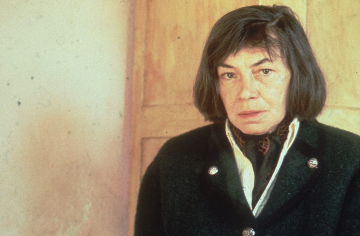 American novelist Patricia Highsmith, the author of 'The Talented Mr Ripley' and 'Strangers On A Train'.