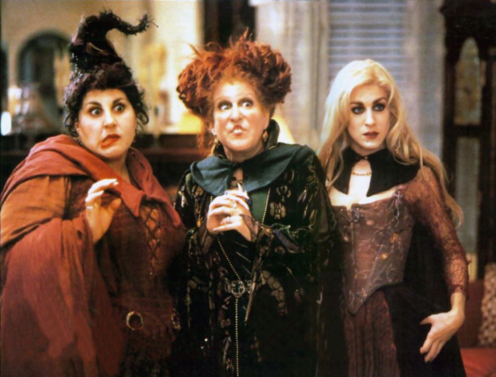 Mary, Winnie, and Sarah, Hocus Pocus, 1993