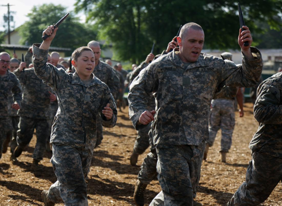 Female soldiers began attending the Army's grueling Ranger school earlier this year.