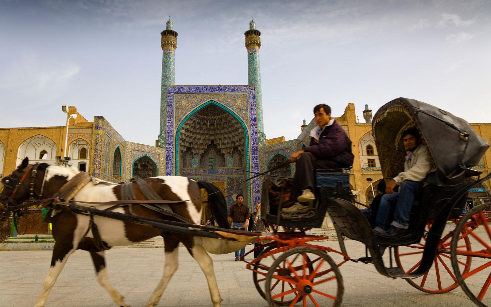 iman square. isfahan