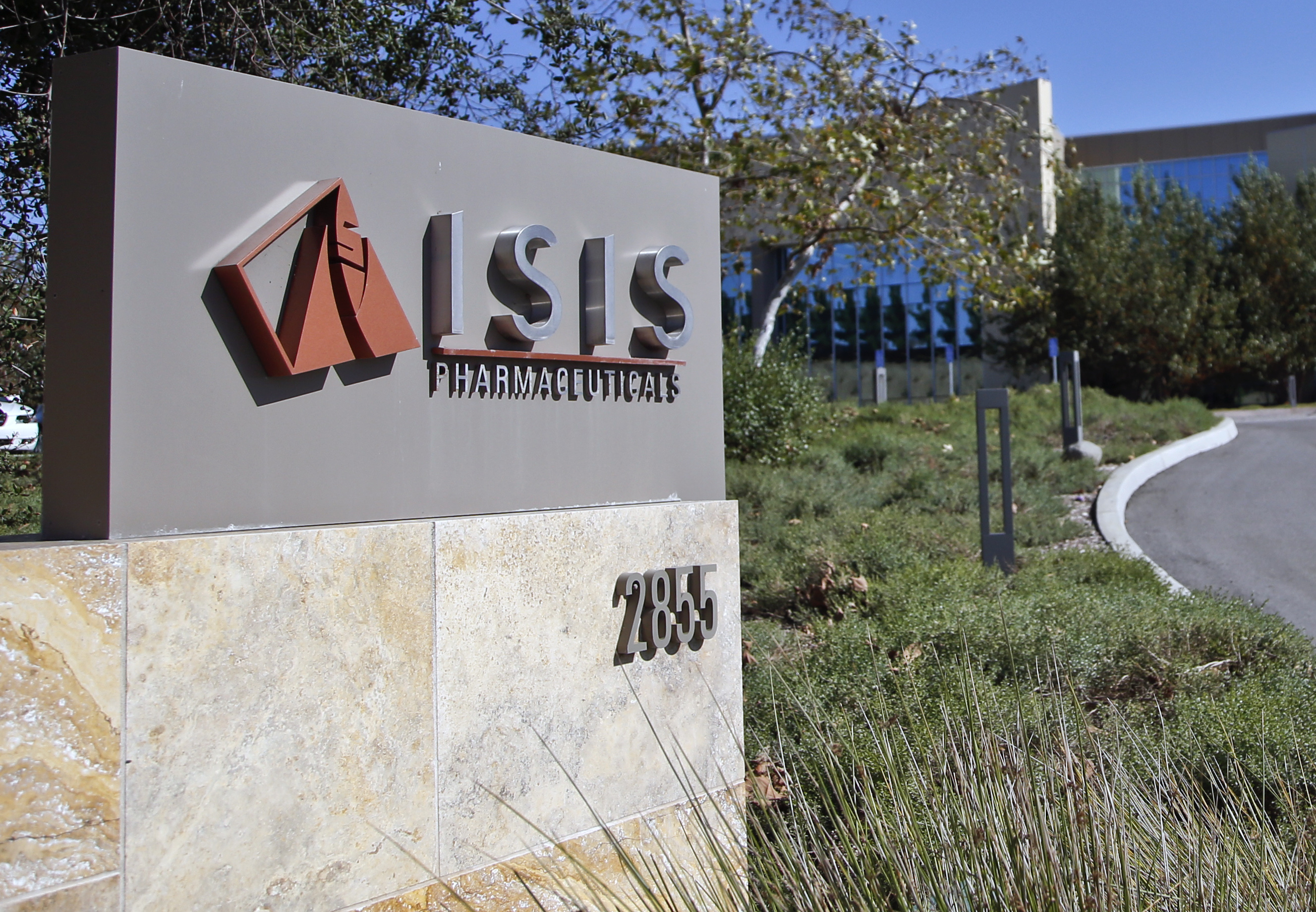 Isis Pharmaceuticals Inc. in Carlsbad, Calif., Sept. 29, 2014.