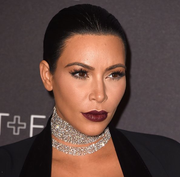 Kim Kardashian West arrives at the LACMA 2015 Art+Film Gala Honoring James Turrell And Alejandro G Inarritu, Presented By Gucci at LACMA on November 7, 2015 in Los Angeles, California