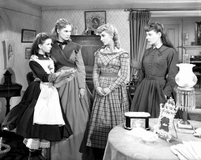 Meg, Jo, Amy, and Beth, Little Women, 1949