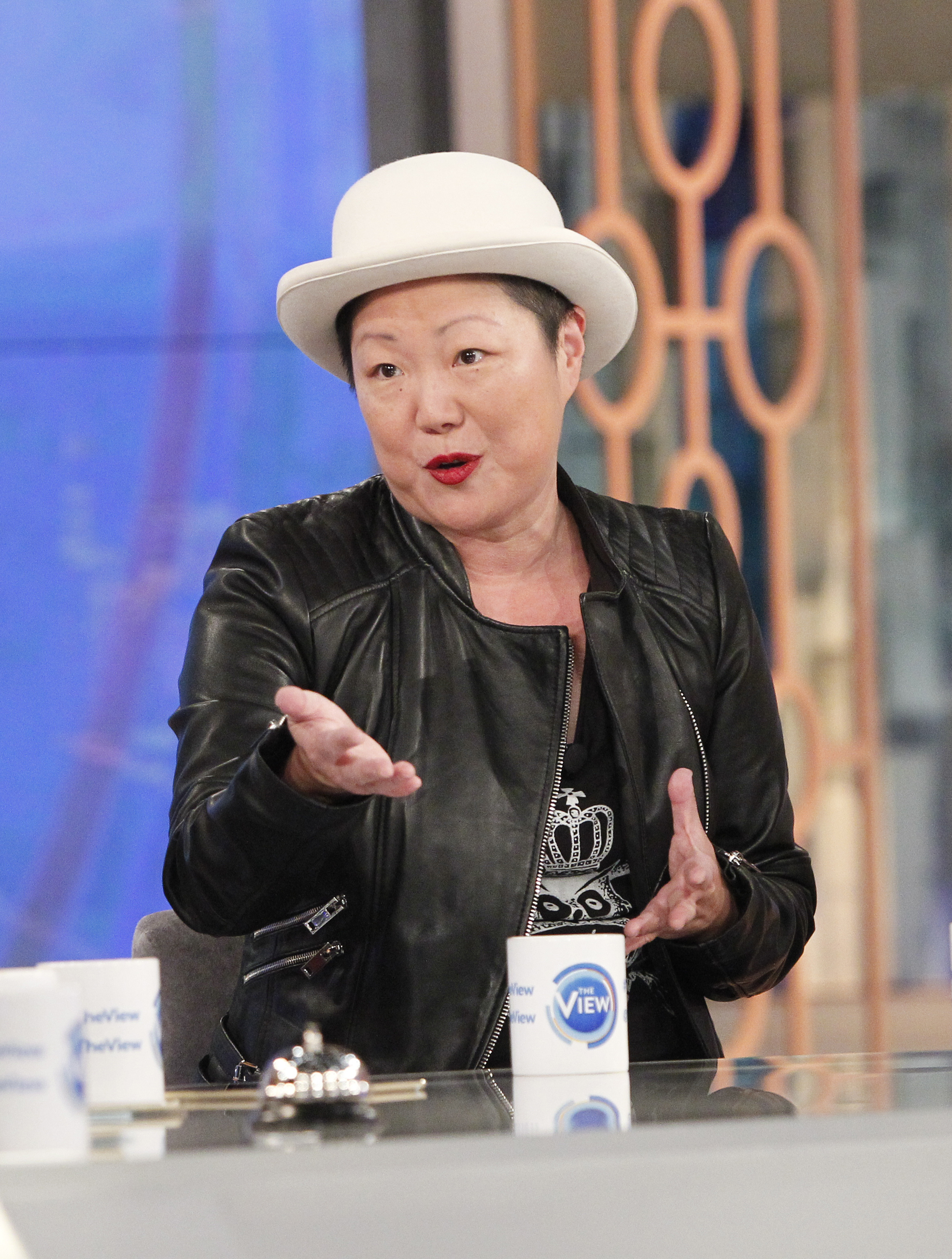 Margaret Cho talks on ABC's 'The View' on Nov. 11, 2015.