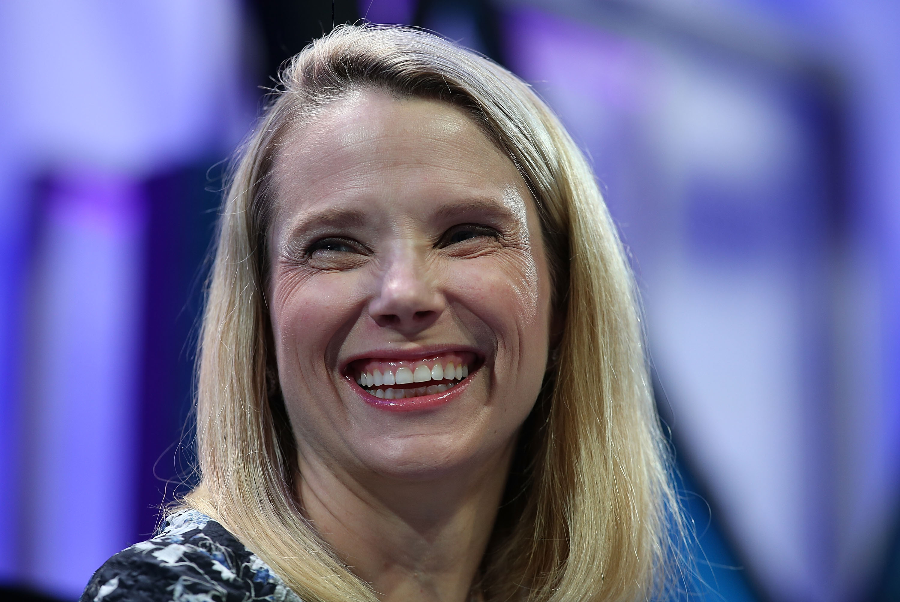 Yahoo president and CEO Marissa Mayer speaks during the Fortune Global Forum on Nov. 3, 2015 in San Francisco.