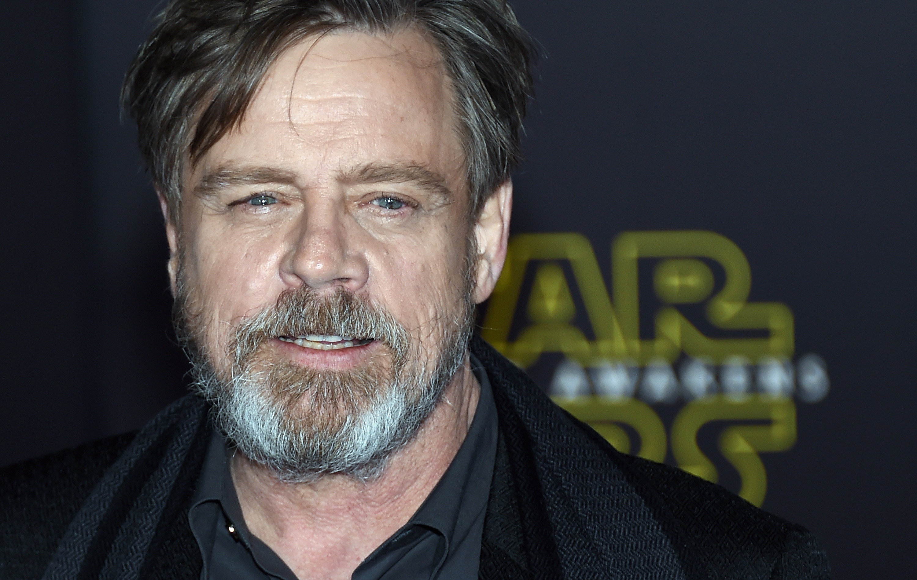 Actor Mark Hamill attends the premiere of Walt Disney Pictures and Lucasfilm's  Star Wars: The Force Awakens  on December 14, 2015 in Hollywood, California.