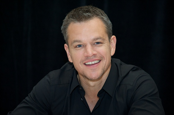 Matt Damon at 'The Martian' Press Conference at the Ritz Carlton on September 11, 2015 in Toronto, Ontario.