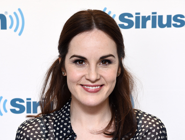 ctress Michelle Dockery visits the SiriusXM Studios on December 7, 2015 in New York City.