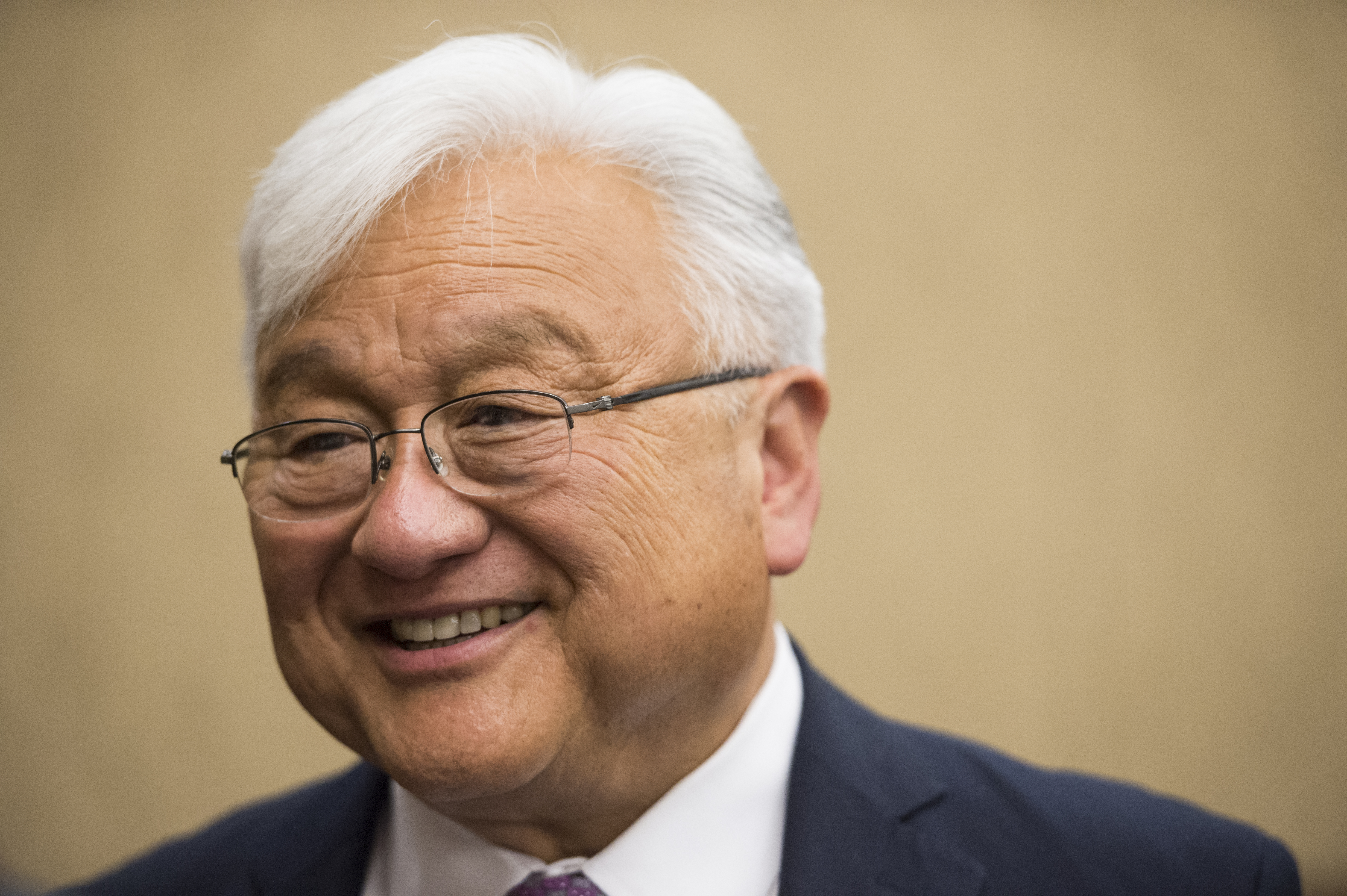 Rep. Mike Honda, D-Calif., holds a news conference with Vietnam veterans and their families to introduce the  Toxic Exposure Research and Family Support Act of 2014  on June 10, 2014.