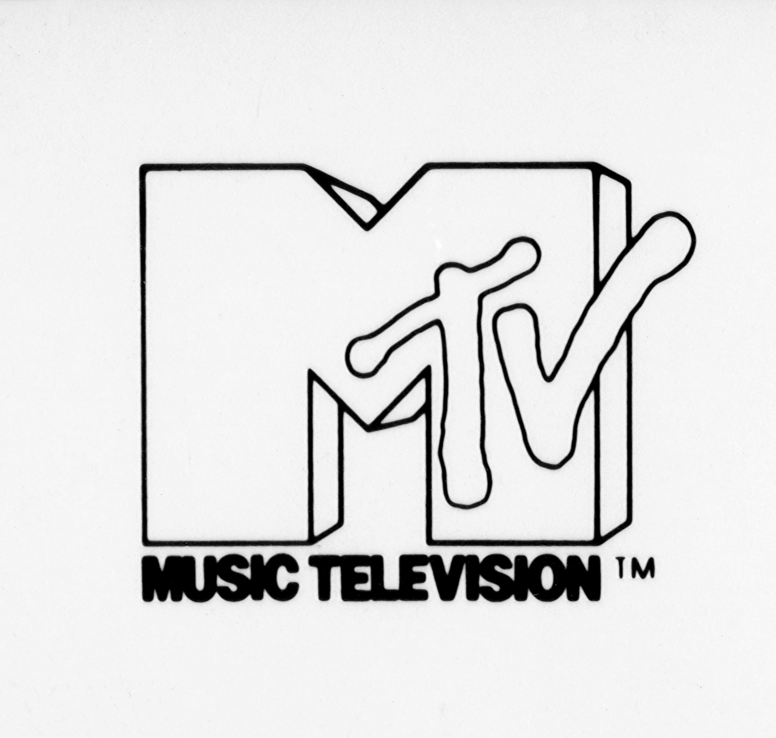 MTV's logo circa 1982.