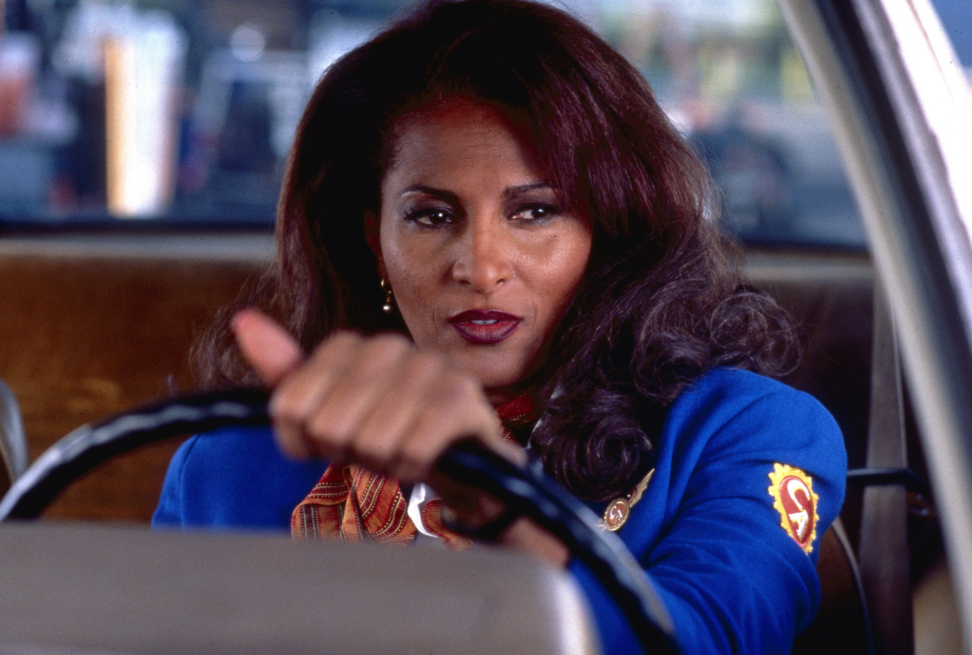 Pam Grier as Jackie Brown in Jackie Brown, 1997.