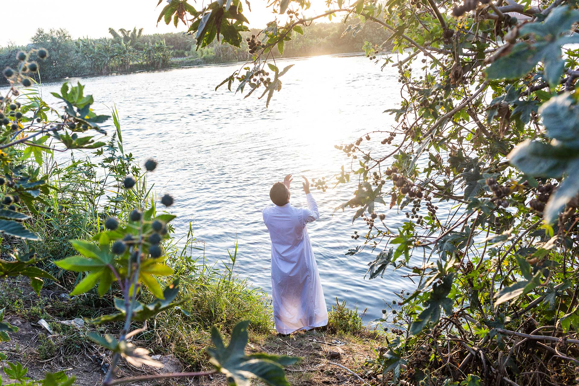 National Geographic News: Inside the World of Egypt's Salafist MuslimsAbdul Rahman, a 27-year-old Salafist from Al Mansurah, Egypt, prays—often with great intensity and emotion—on the banks of the Nile River.
