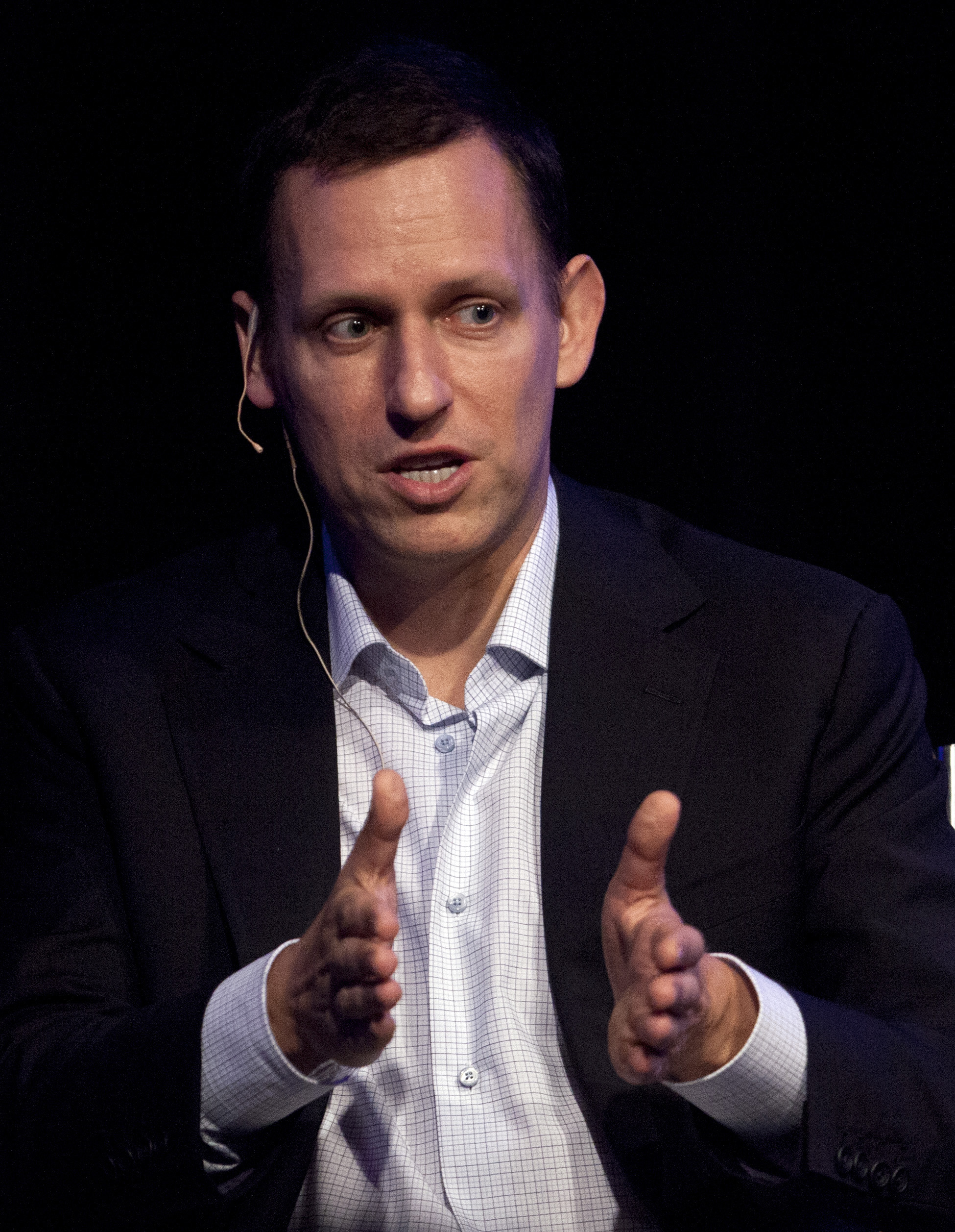 Peter Thiel during the StartOut LGBT Entrepreneurship Awards in San Francisco on March 8, 2012, in San Francisco.