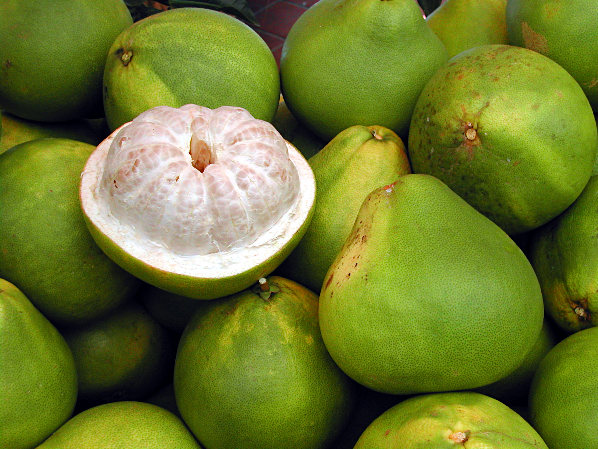 """""""Pomelos are their best in January and just a little after, so this is really the month to eat them,  says Romano."""