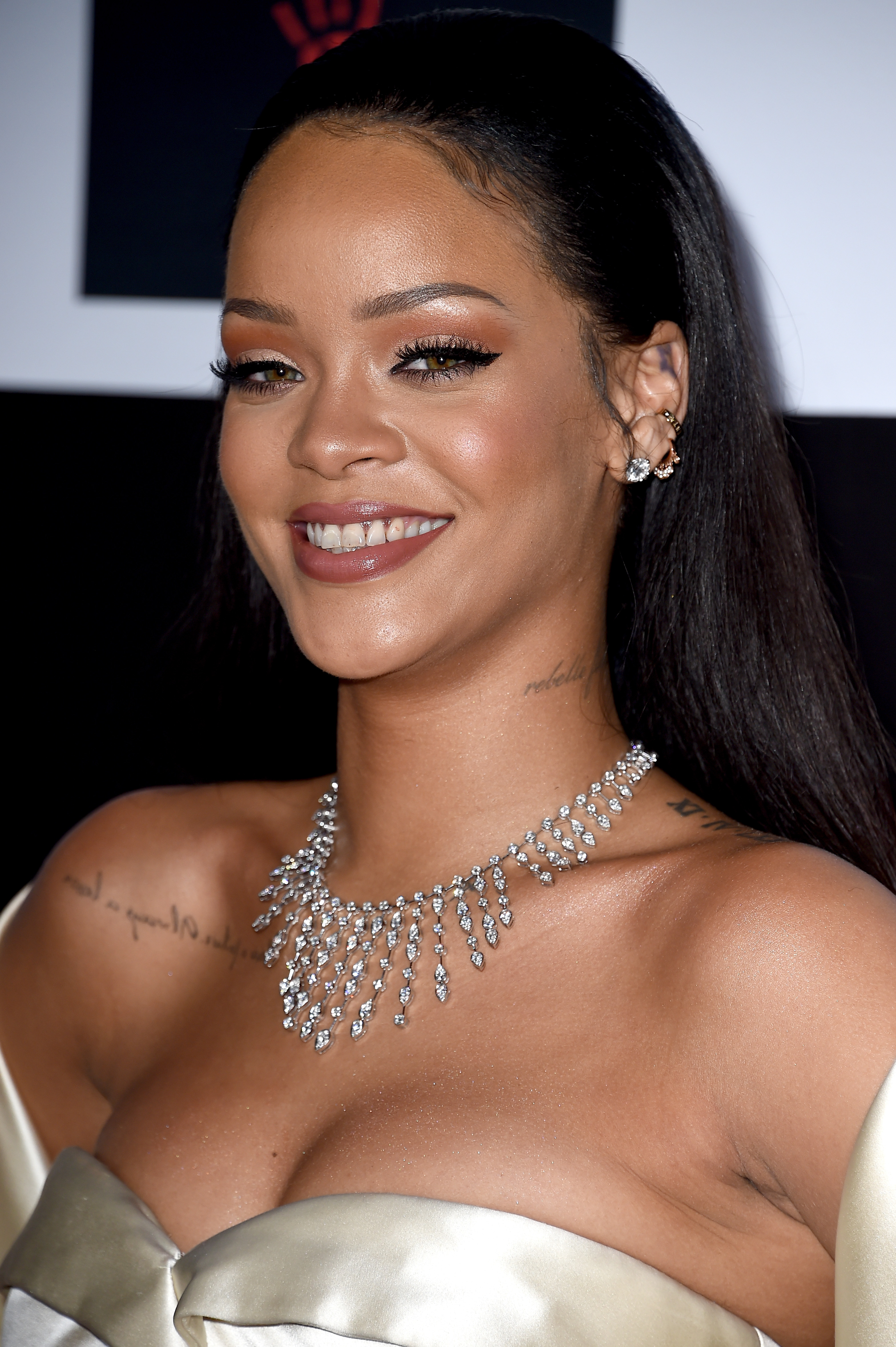 Rihanna at the 2nd Annual Diamond Ball hosted by Rihanna and The Clara Lionel Foundation in Santa Monica, Calif. on Dec. 10, 2015.