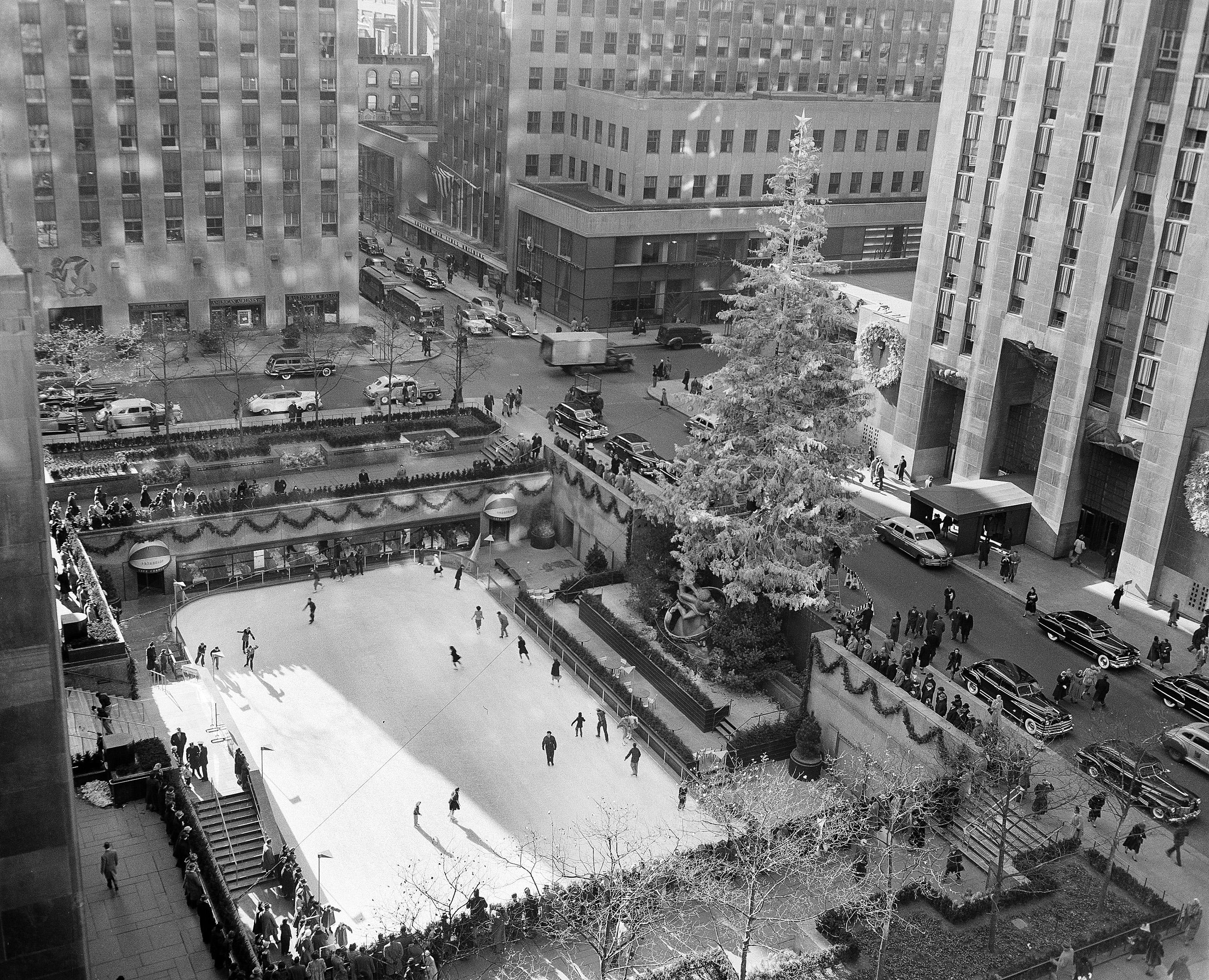 1949 Rockefeller Center Tree