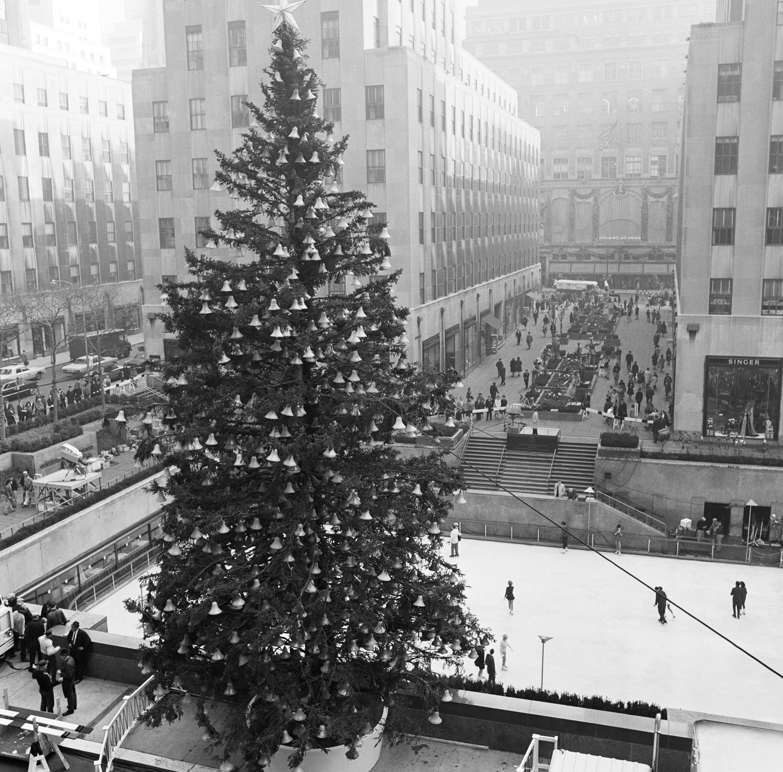 1966 Rockefeller Center Tree