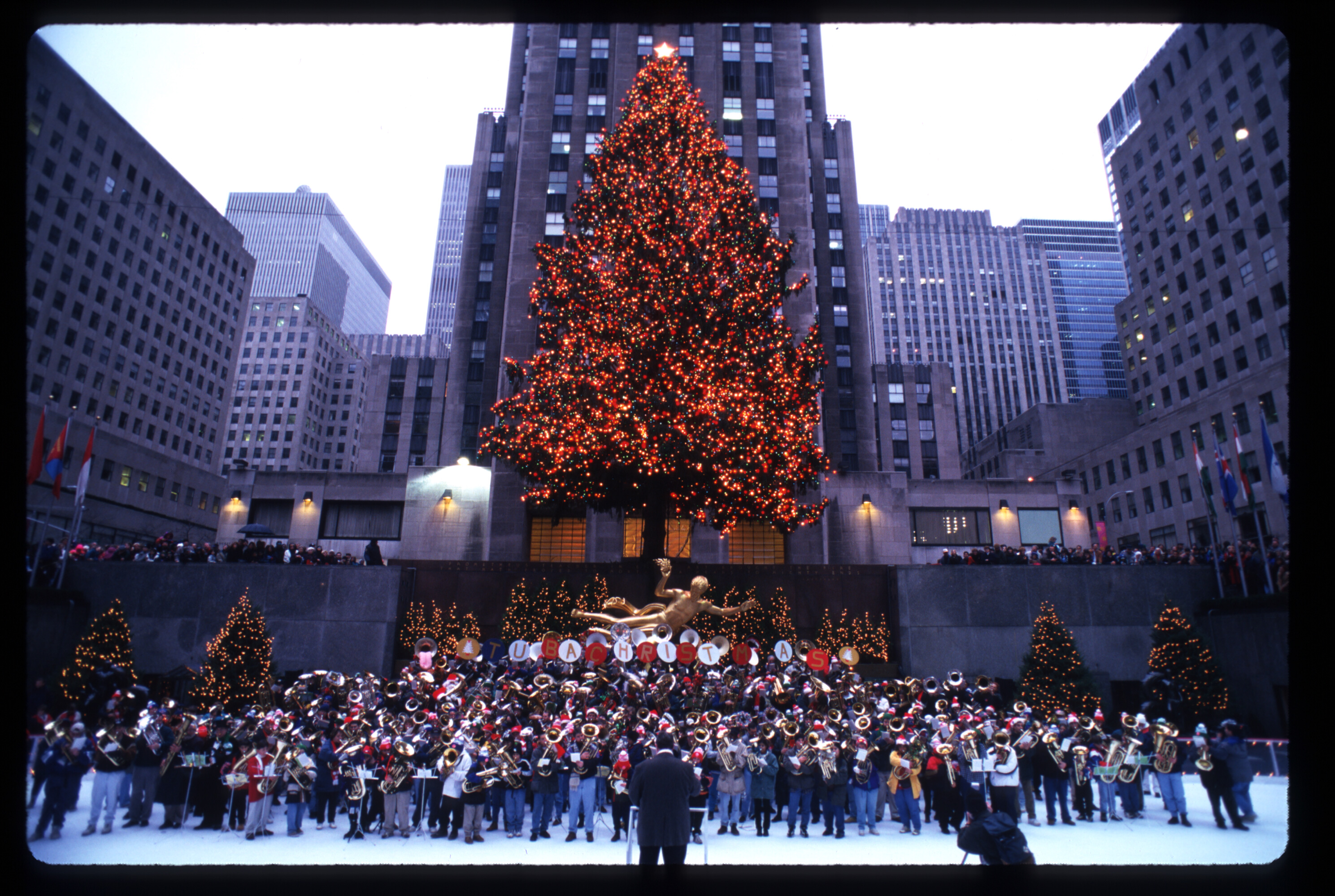 1996 Rockefeller Center Tree