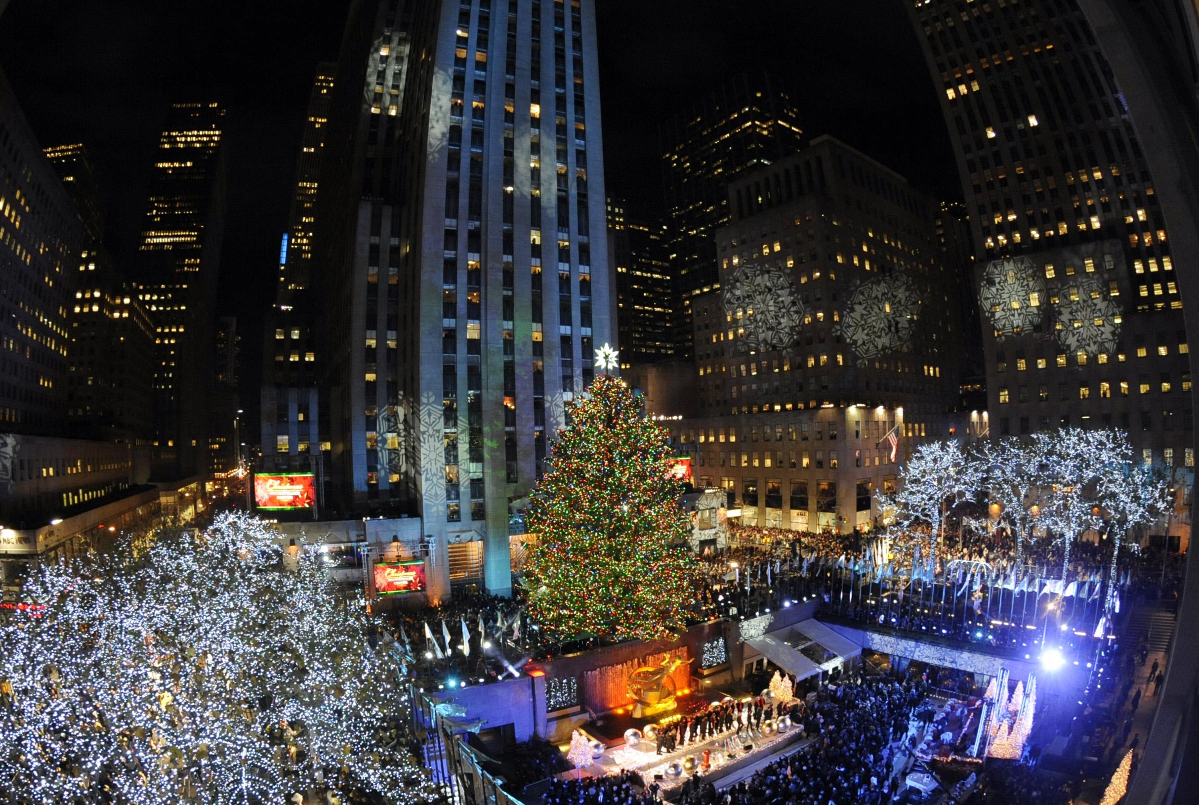 2011 Rockefeller Center Tree