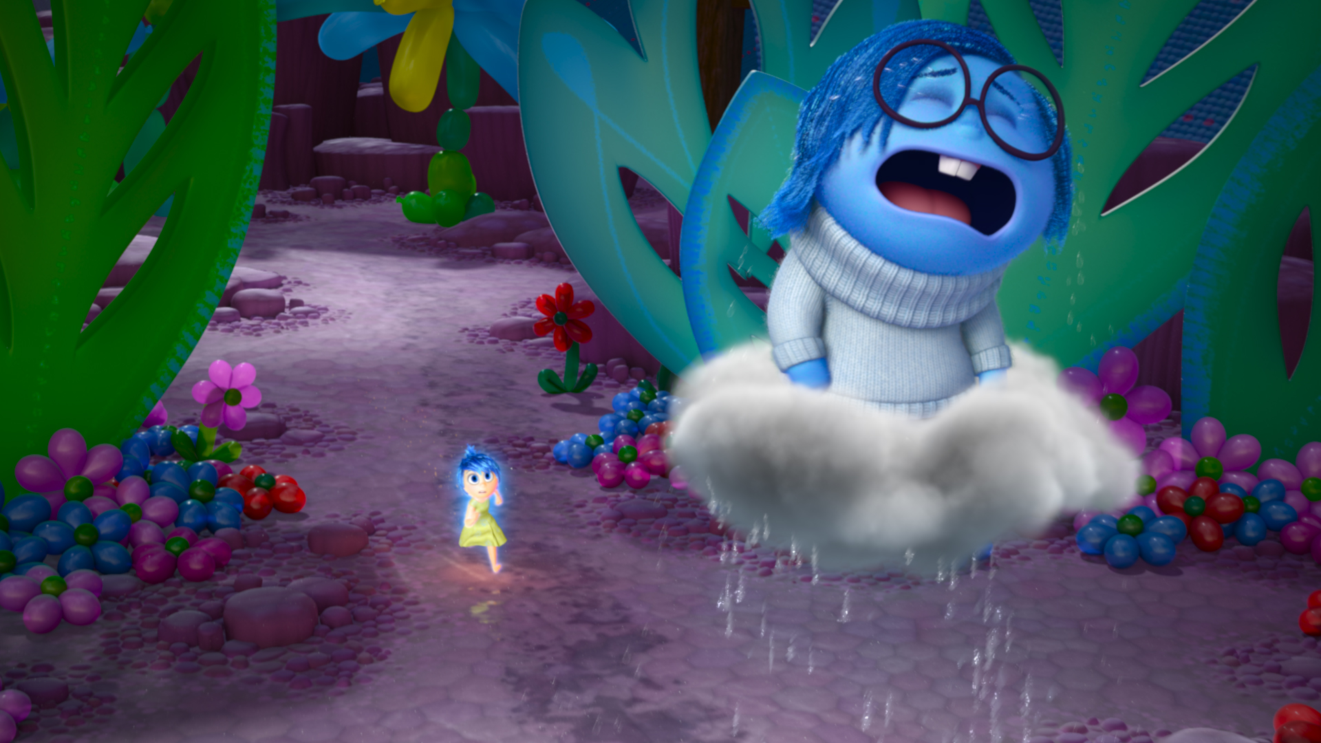 Sadness in Inside Out