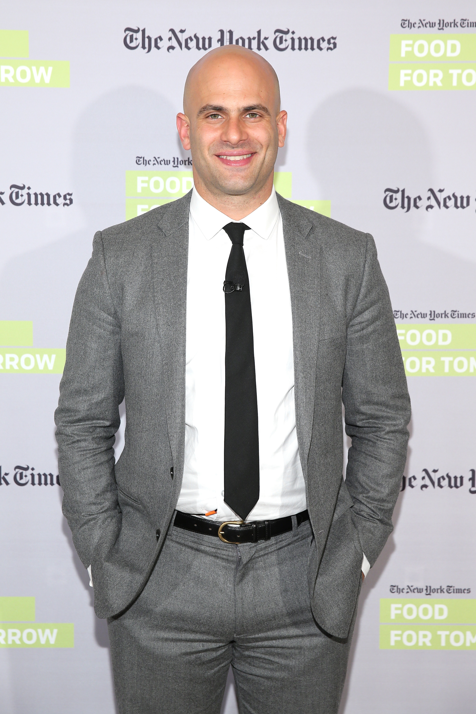 Former White House chef Sam Kass at The New York Times Food For Tomorrow Conference At Stone Barns, New York, on Nov. 12, 2014.