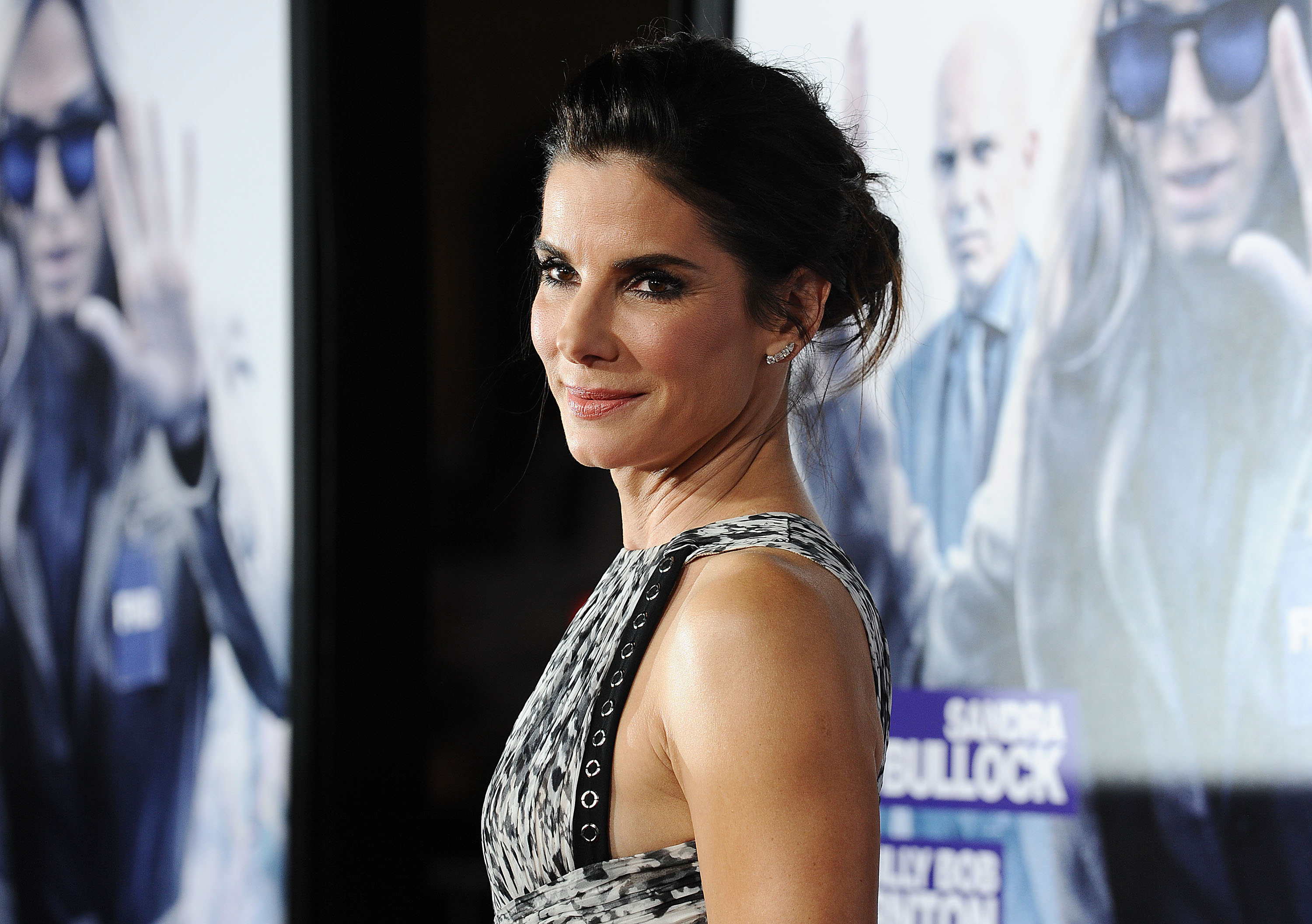 Sandra Bullock attends the premiere of  Our Brand Is Crisis  in Hollywood, CA on Oct. 26, 2015.