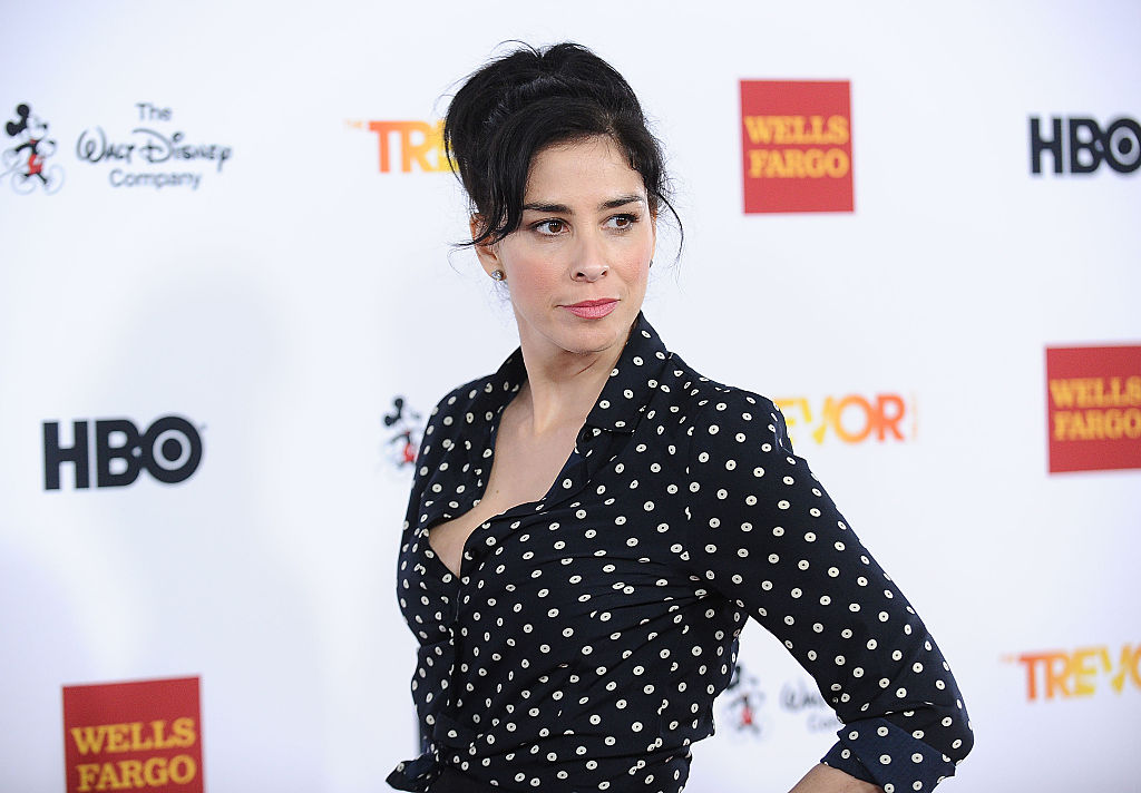 Sarah Silverman attends TrevorLIVE LA 2015 at Hollywood Palladium on Dec. 6 in Los Angeles.