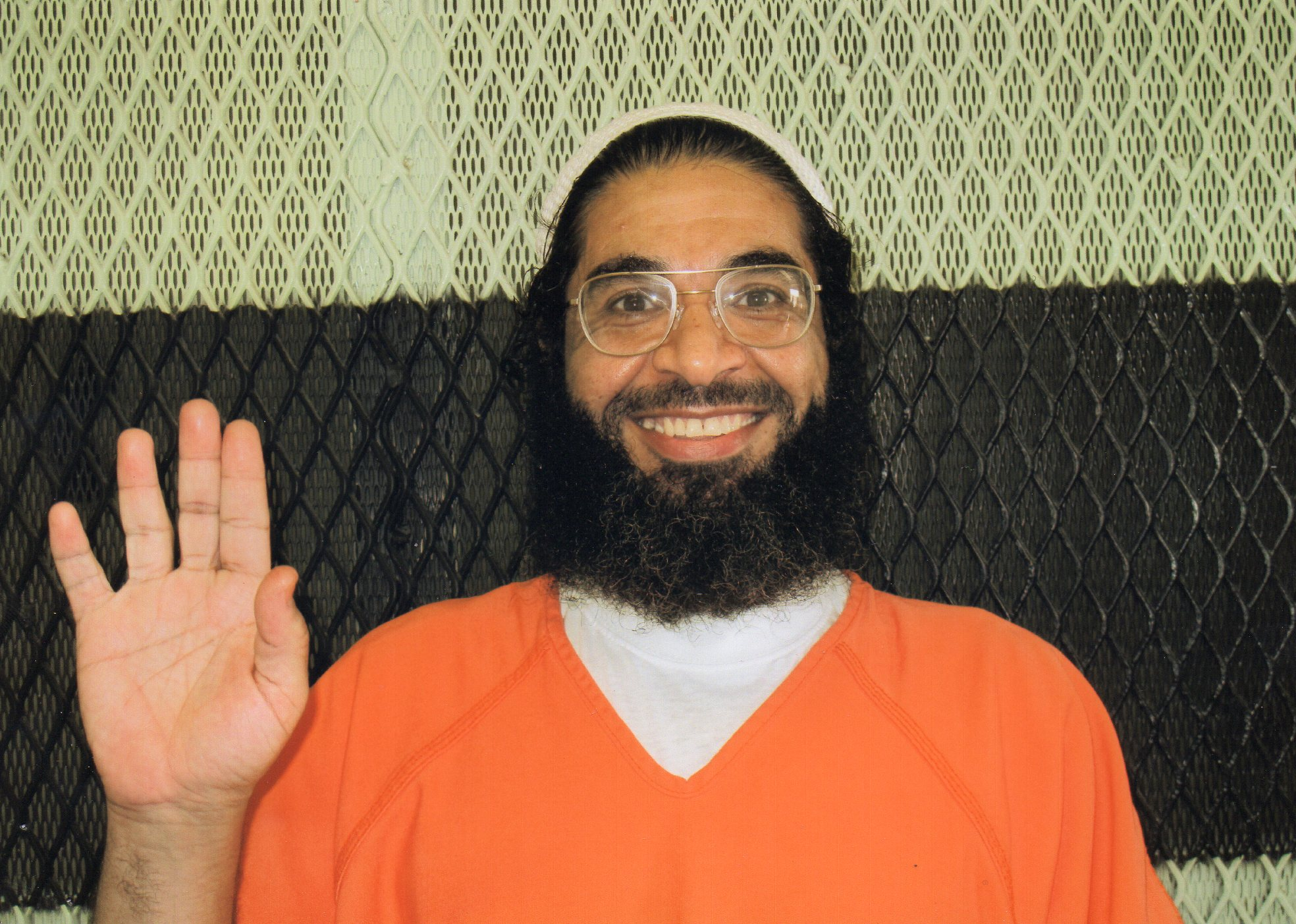 Shaker Aamer in a 2013 photo provided by the International Committee of the Red Cross.