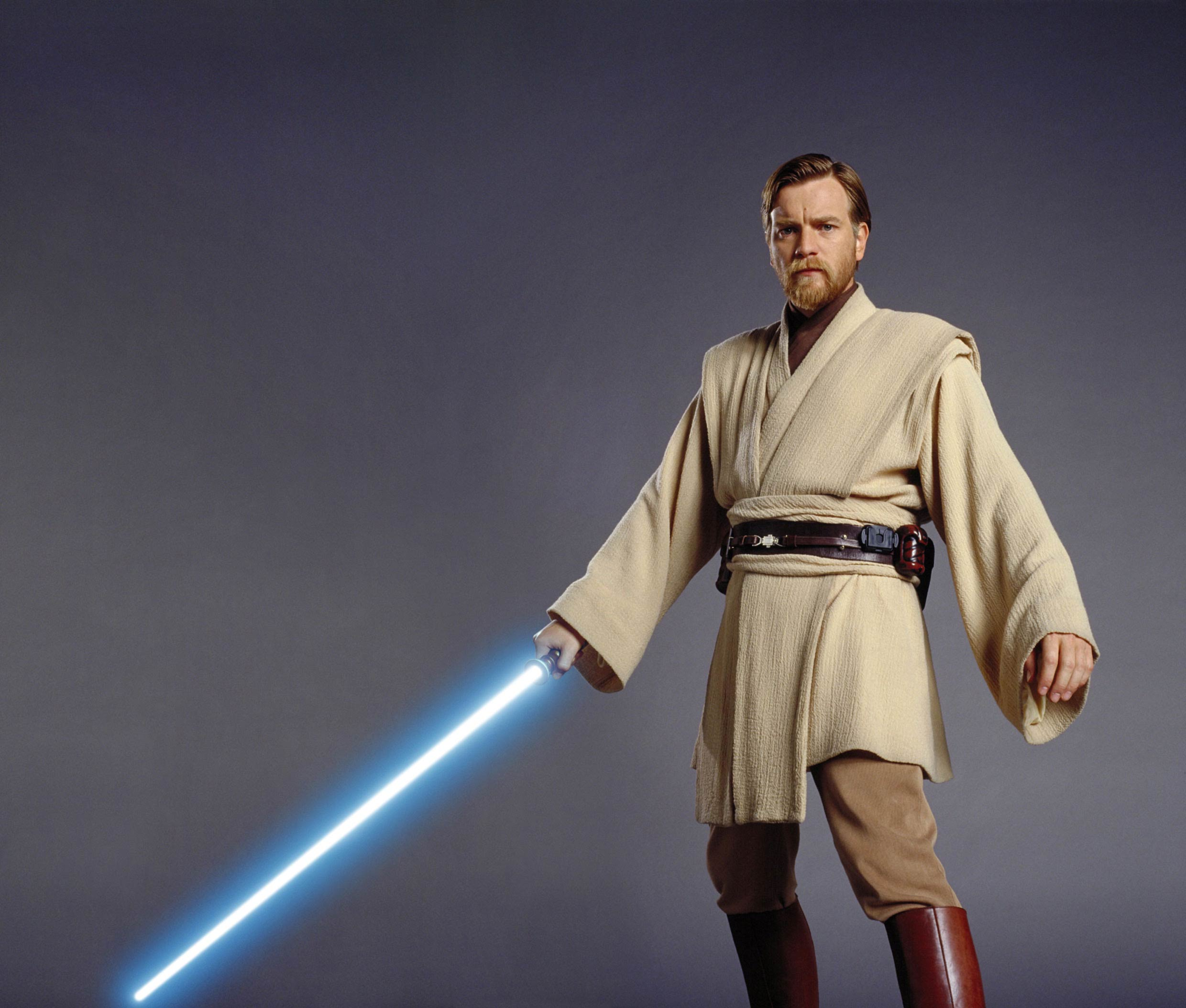 Ewan McGregor as Obi-Wan Kenobi in Star Wars: Episode III - Revenge of the Sith.