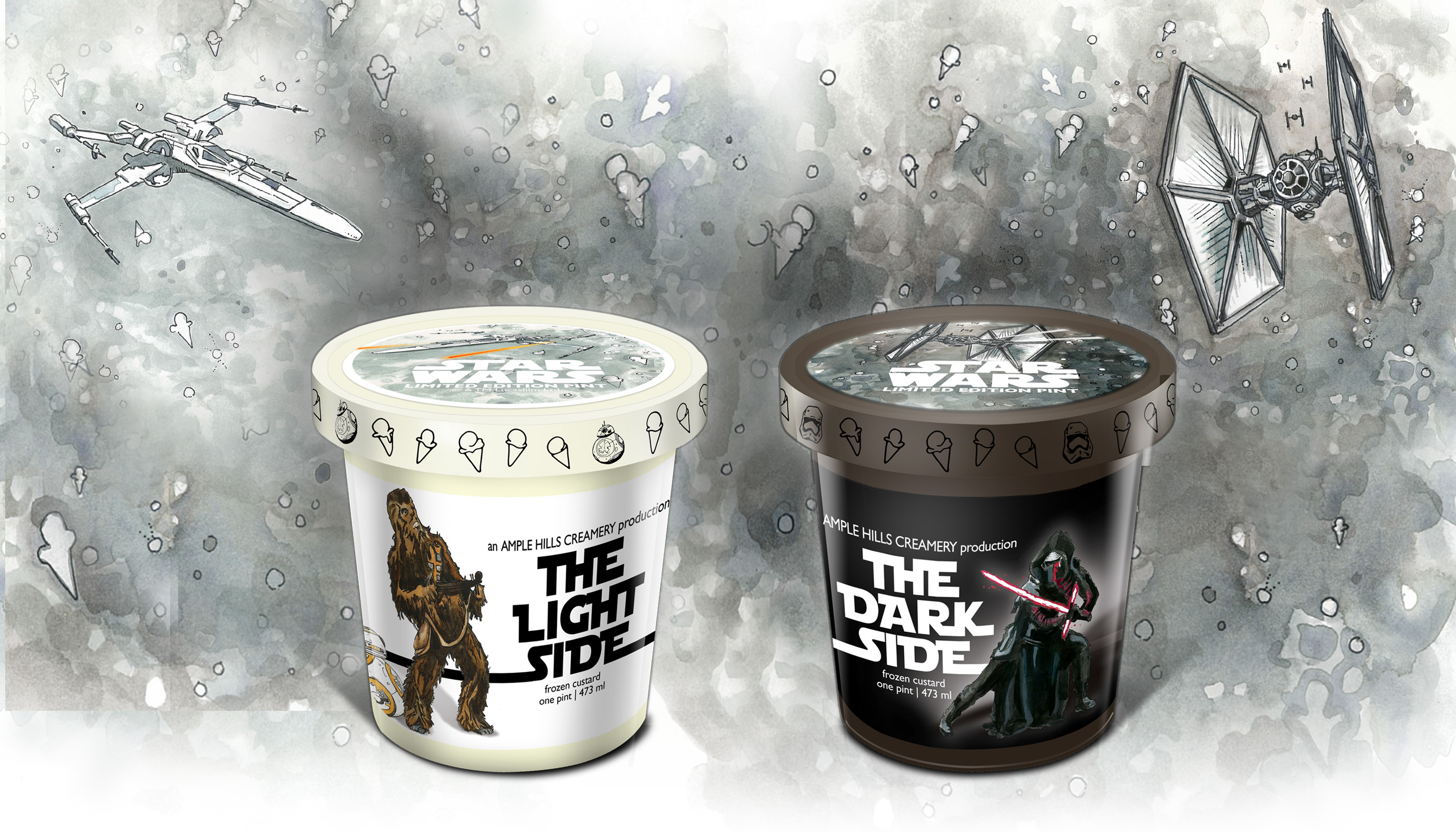 Ample Hills Creamery limited edition Star Wars ice cream flavors