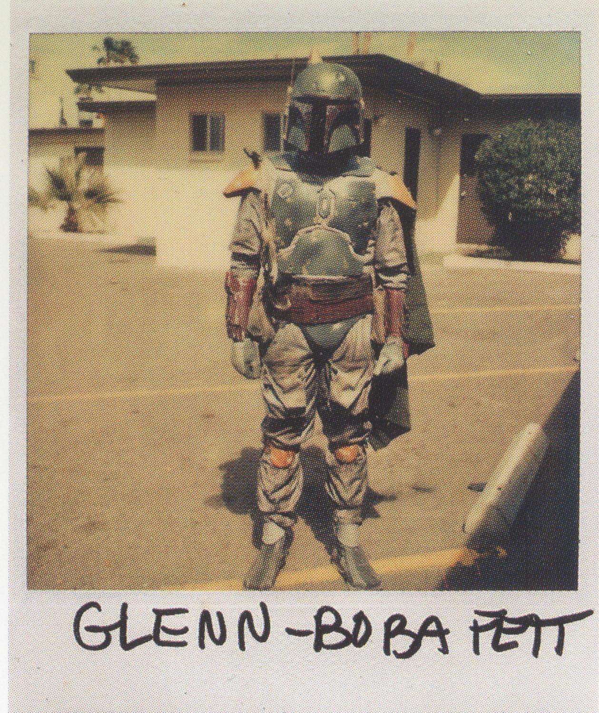 Boba Fett costume test