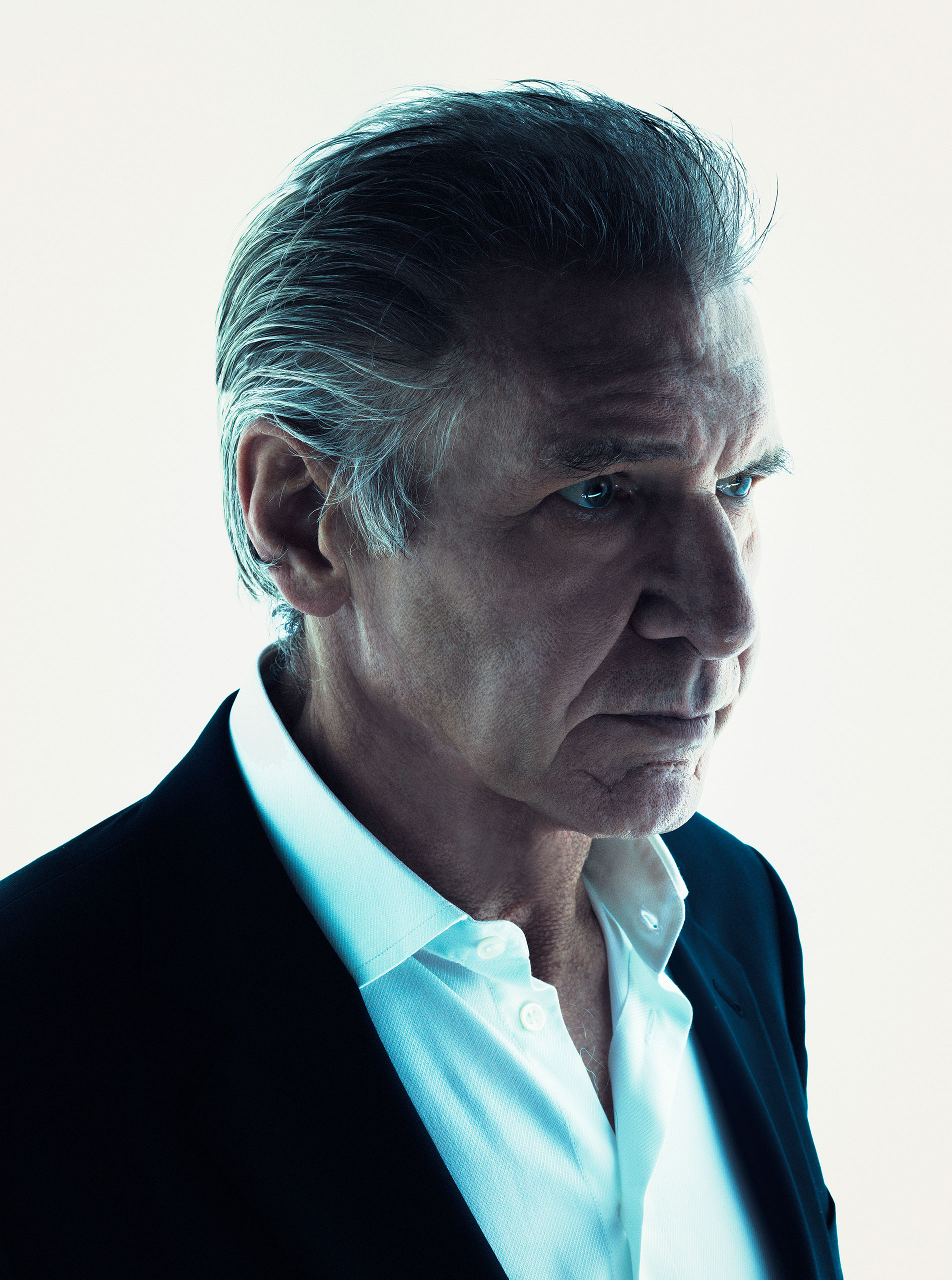 Harrison Ford photographed for TIME on October 16, 2015 in Los Angeles.