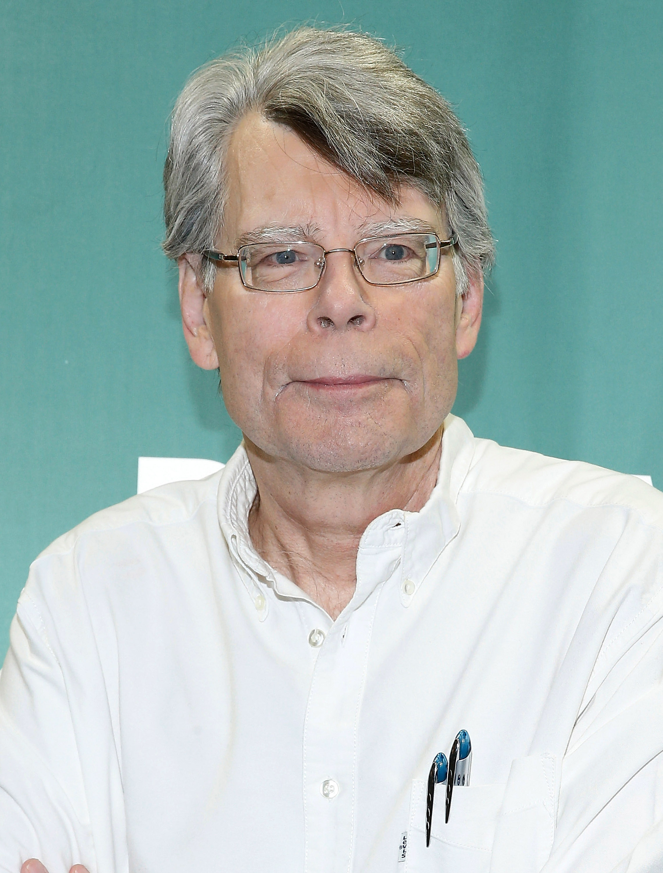 Stephen King signs copies of his book  Revival  in New York City on Nov. 11, 2014.