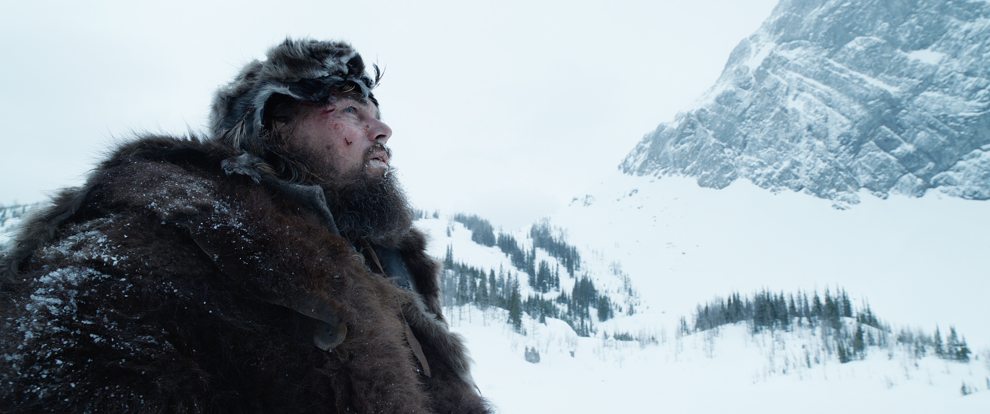 Leonardo DiCaprio in The Revenant.