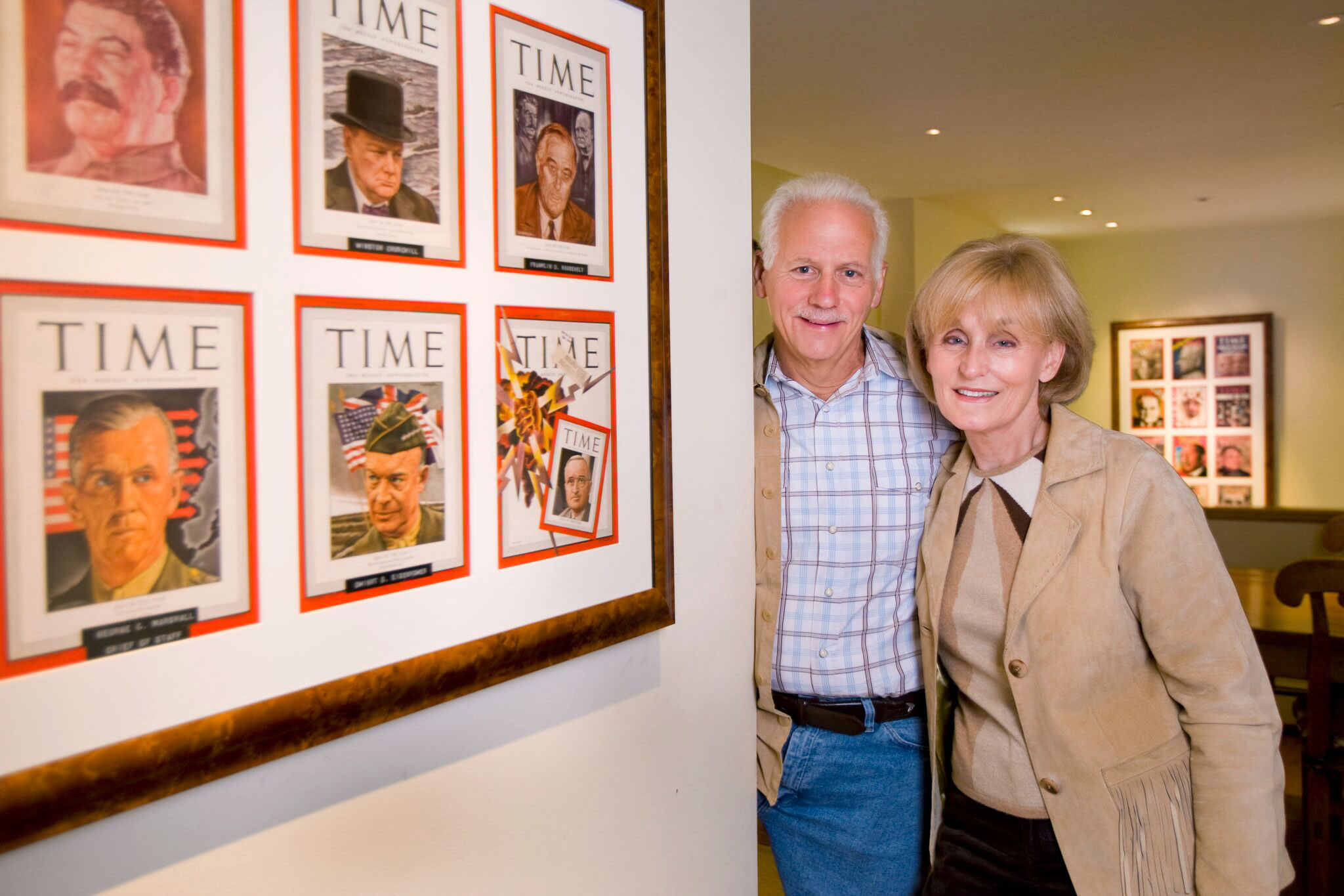 Ken Adelman and his wife, Carol, at their home in Aspen, Colo.