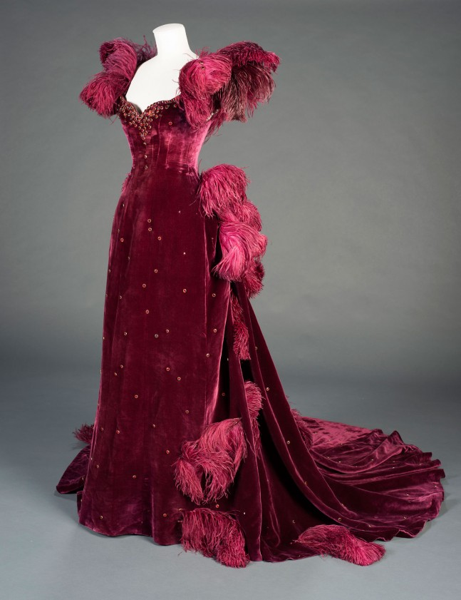 The ball gown from Gone With the Wind, designed by Walter Plunkett, 1939. David O. Selznick Collection.