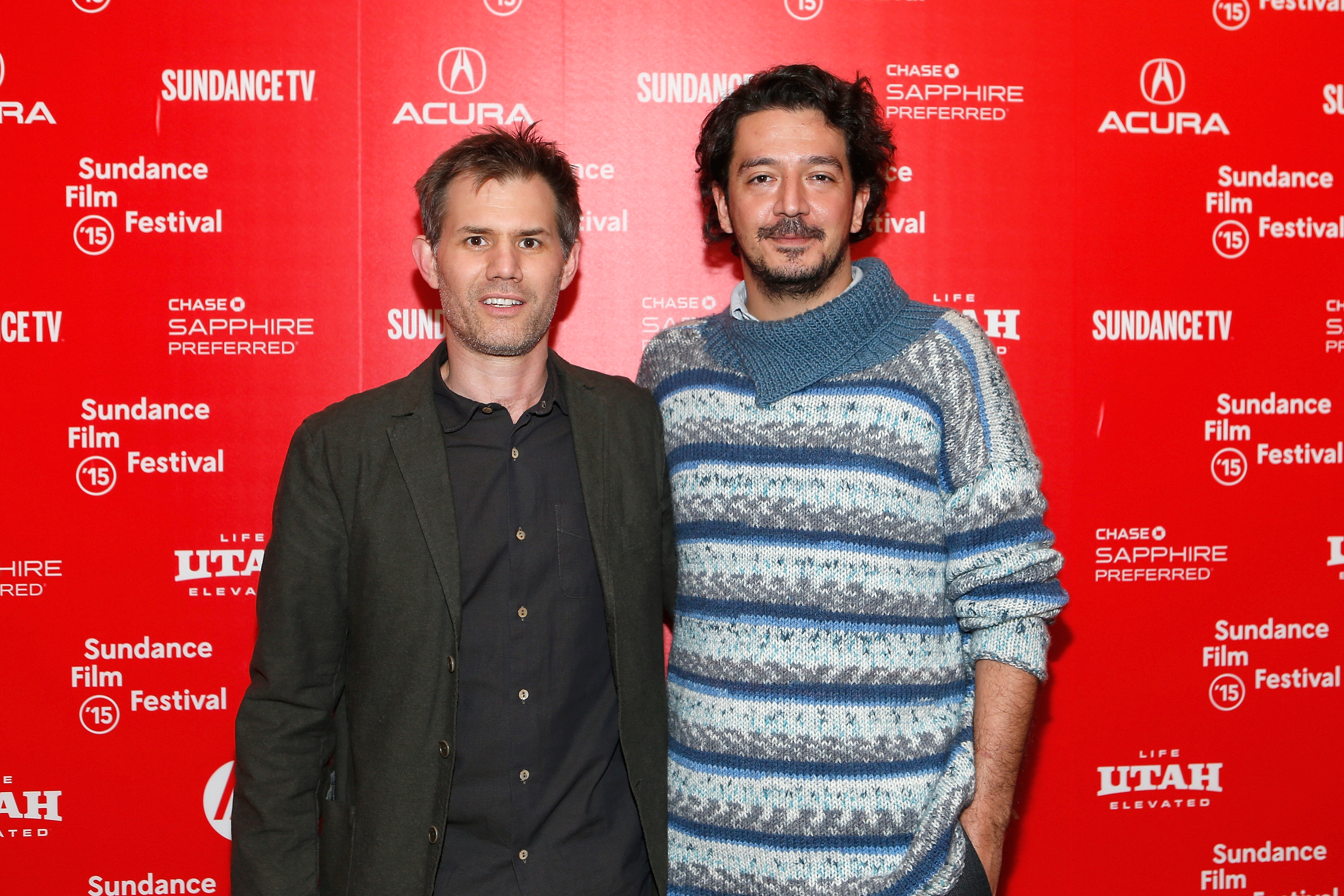 Directors and writers John Nein and Tolga Karacelik attend the  Ivy  premiere during the 2015 Sundance Film Festival in Park City, Utah on Jan. 26, 2015.