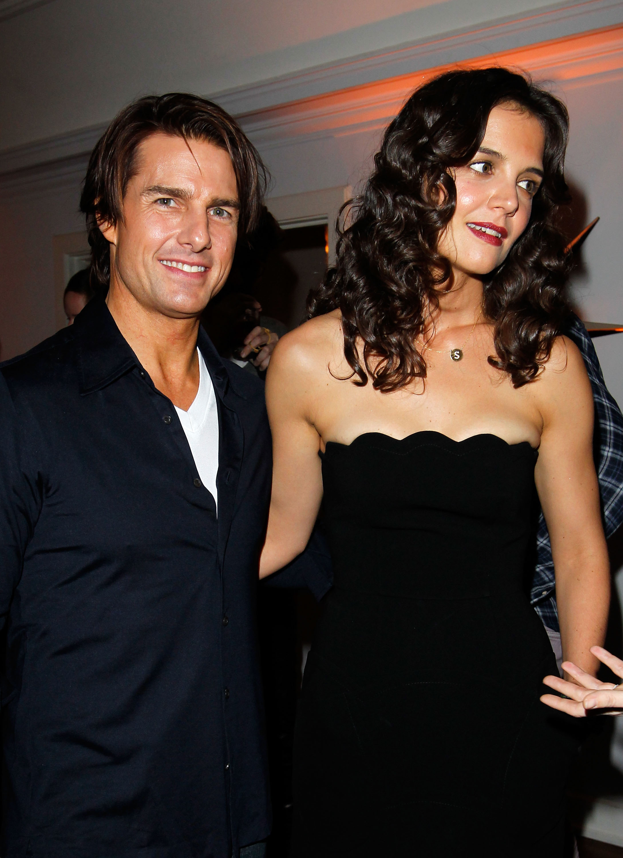 Actor Tom Cruise and Actress Katie Holmes at Chateau Marmont on Jan.14, 2011 in Los Angeles, California.