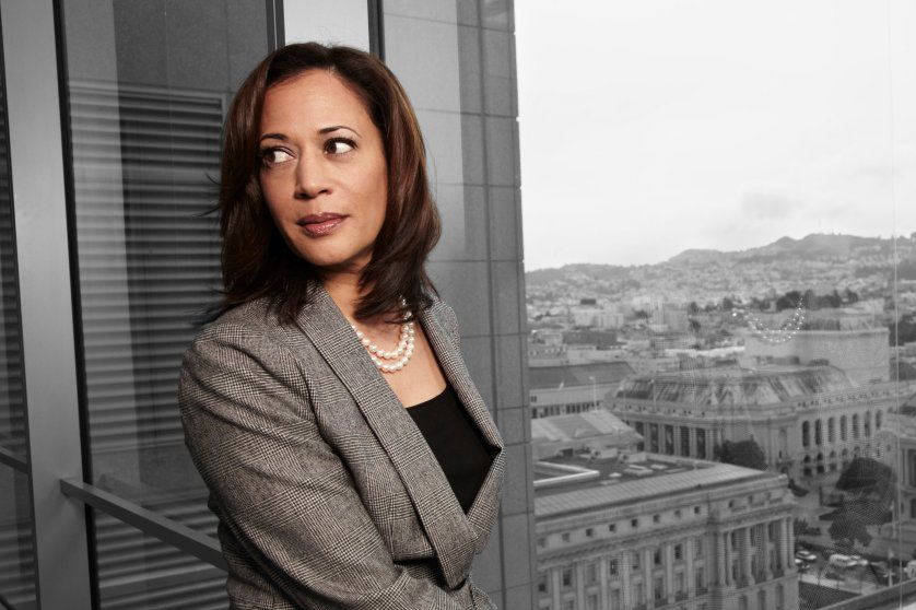 Kamala Harris The California attorney general, a Democrat, is running for the seat being vacated by long-serving Sen. Barbara Boxer in California. If she wins, she would be the first black and the first South Asian Senator from the Golden State.