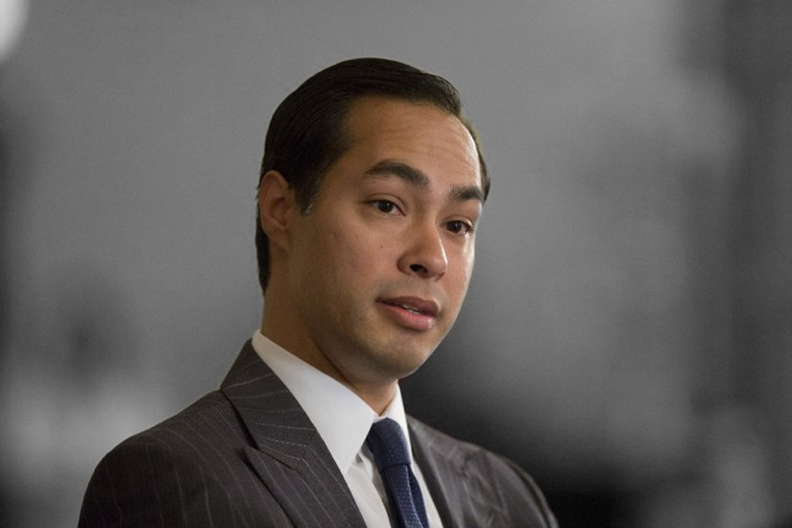 Julian Castro:                                The former mayor of San Antonio is now serving as Secretary of the Department of Housing and Urban Development, but many political watchers think he's got a shot at being Hillary Clinton's vice presidential pick.