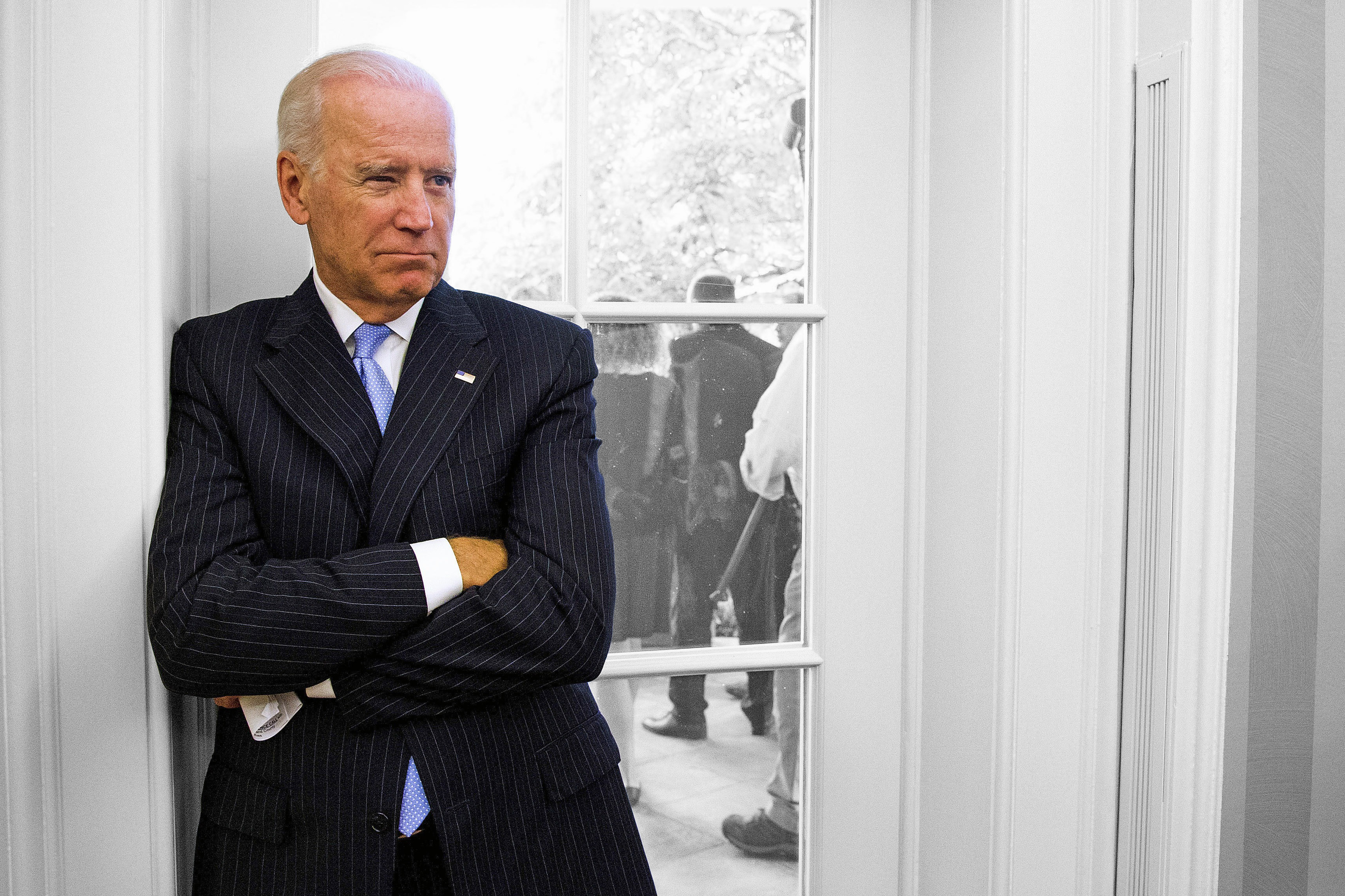 Joe Biden:                                Attention for the Vice President dropped dramatically once he said he's not running for president. But Biden made clear he's going out with a bang. He'll be pushing for things like cancer research and hitting blue-collar areas to drum up votes for Democratic candidates.