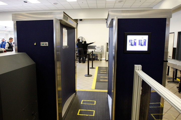 The Transportation Security Administration can now force passengers to go through body scanners.