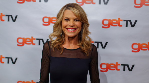 Vanna White attends the 50th Anniversary Of The Merv Griffin Show at Sony Pictures Studios on November 19, 2015 in Culver City, California.