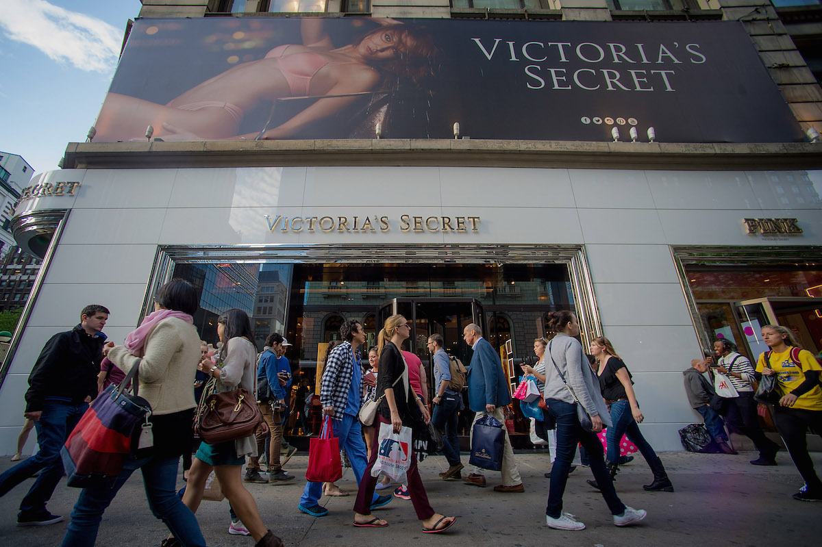 Victoria's Secret in Manhattan's Herald Square in New York City on May 19, 2014.